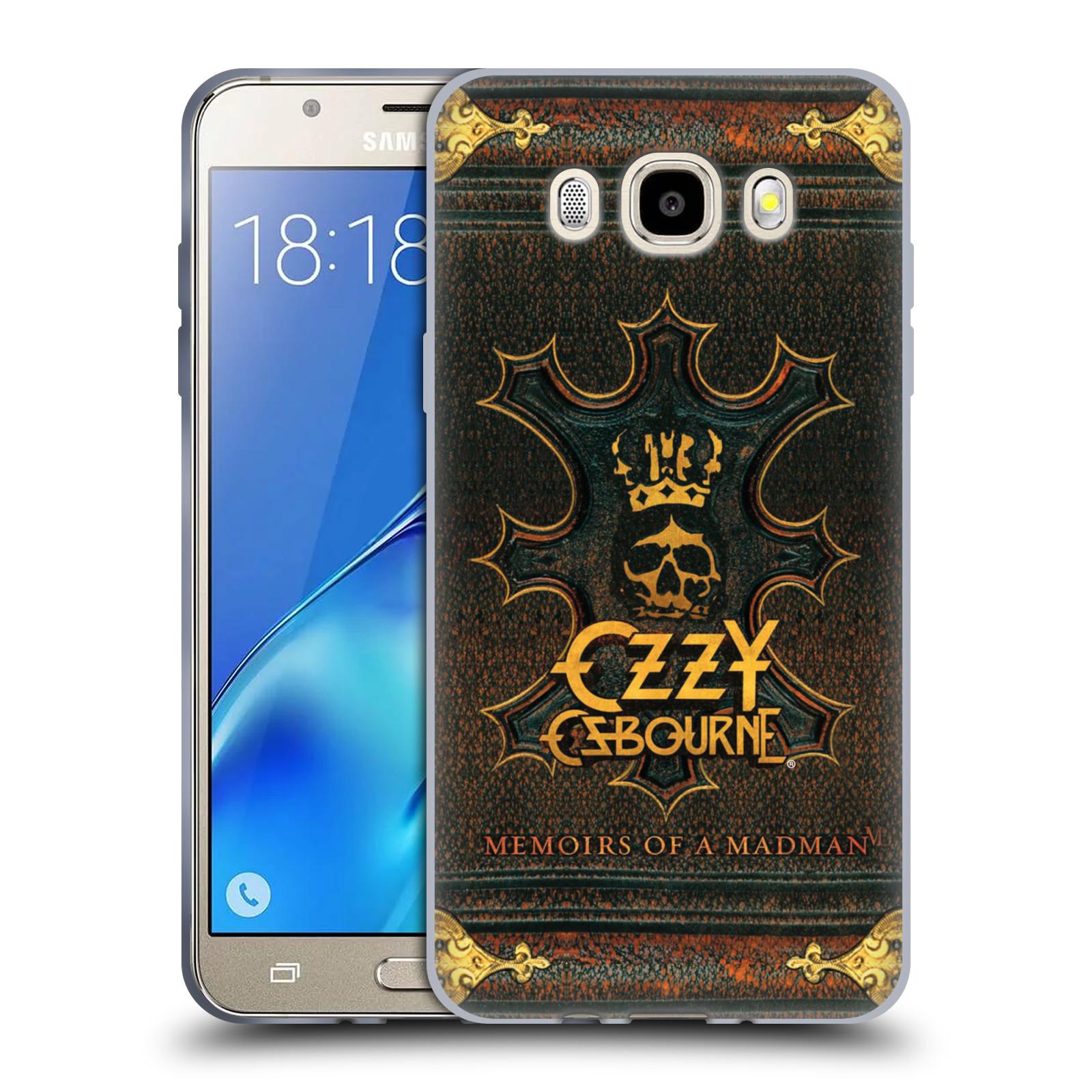 HEAD CASE silikonový obal na mobil Samsung Galaxy J5 2016 (J510) zpěvák Ozzy Osbourne koruna