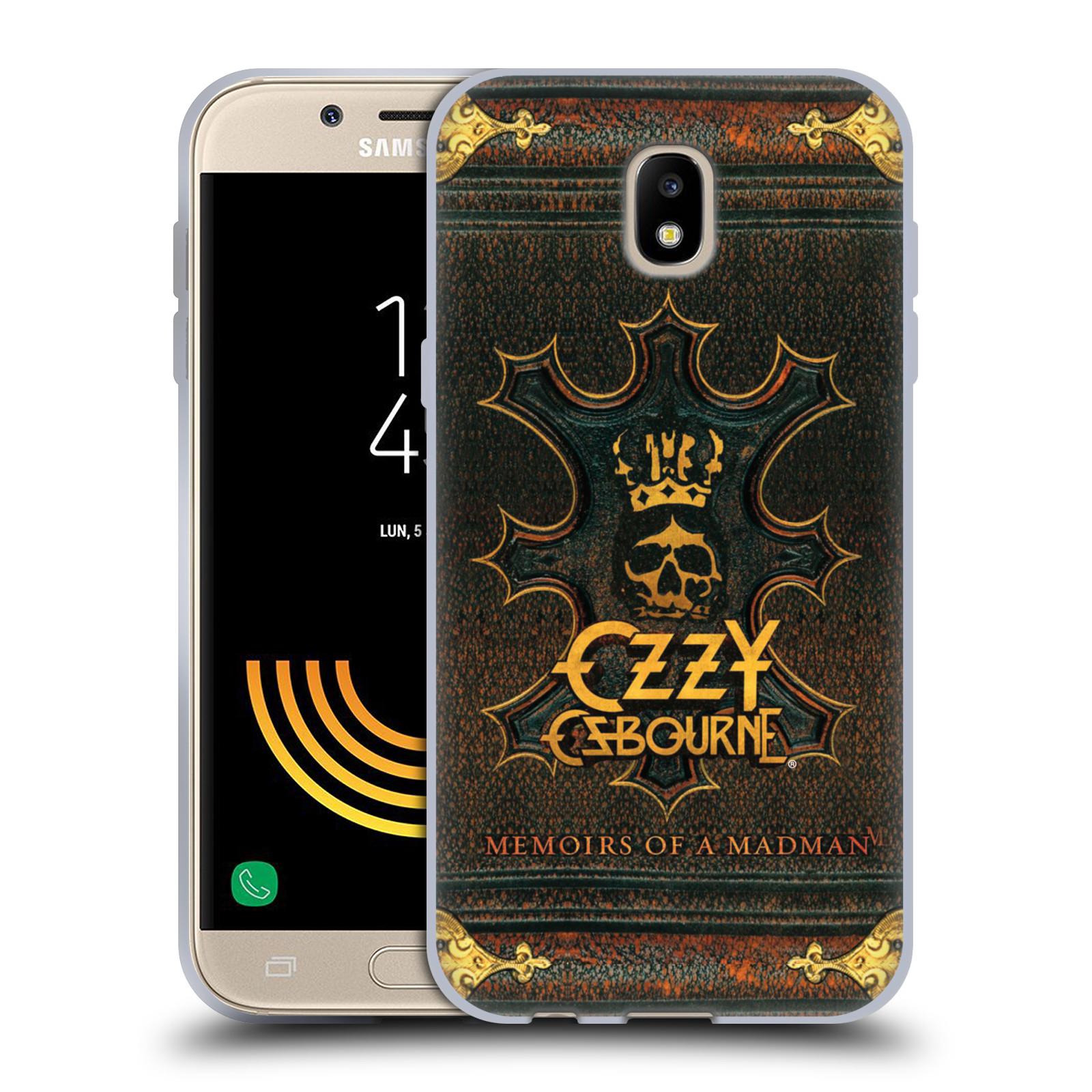 HEAD CASE silikonový obal na mobil Samsung Galaxy J5 2017 zpěvák Ozzy Osbourne koruna