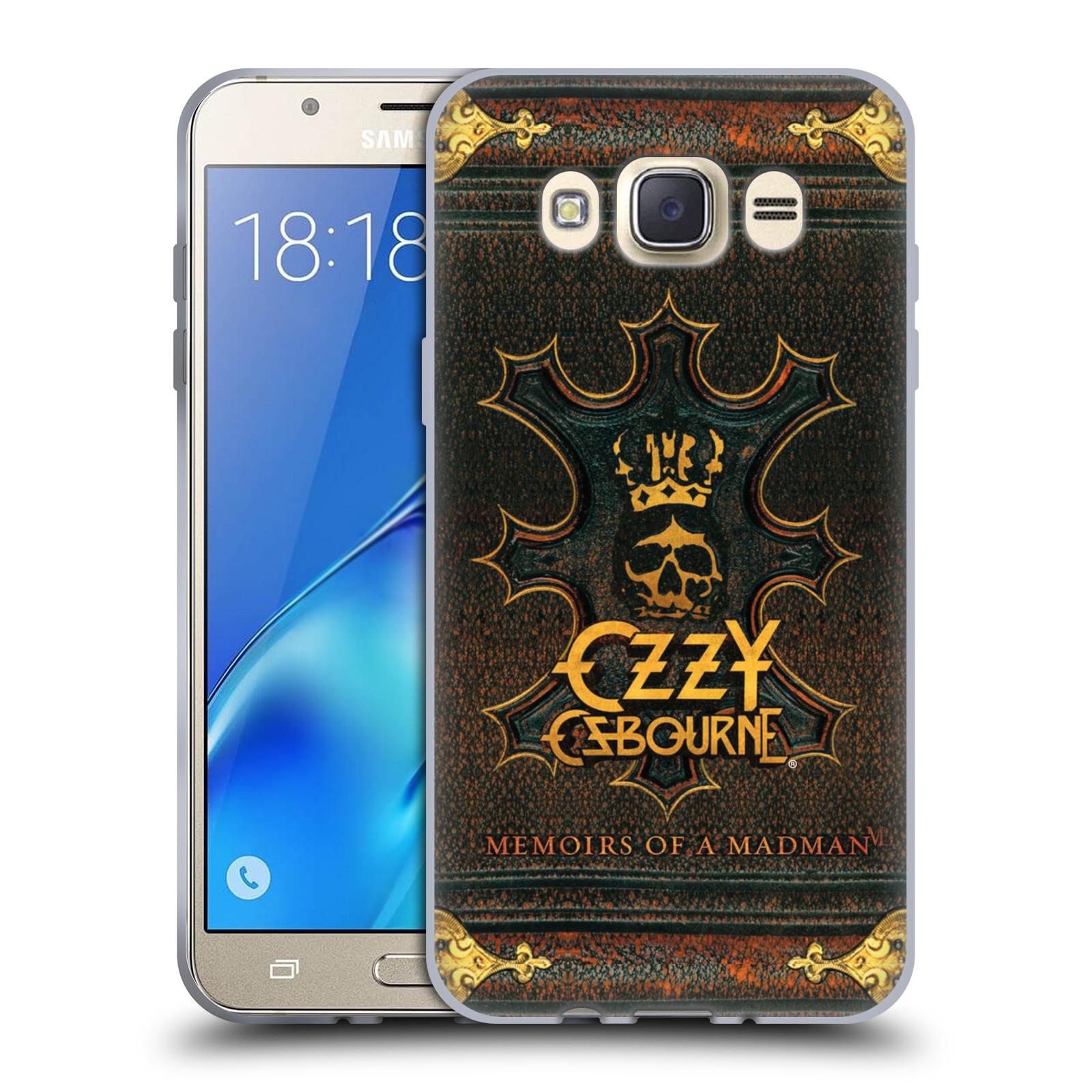 HEAD CASE silikonový obal na mobil Samsung Galaxy J7 2016 zpěvák Ozzy Osbourne koruna