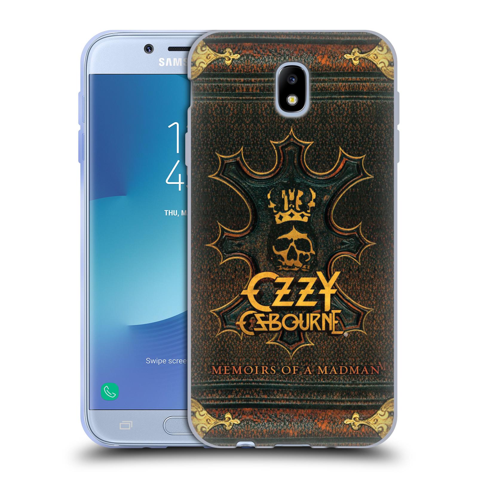 HEAD CASE silikonový obal na mobil Samsung Galaxy J7 2017 zpěvák Ozzy Osbourne koruna
