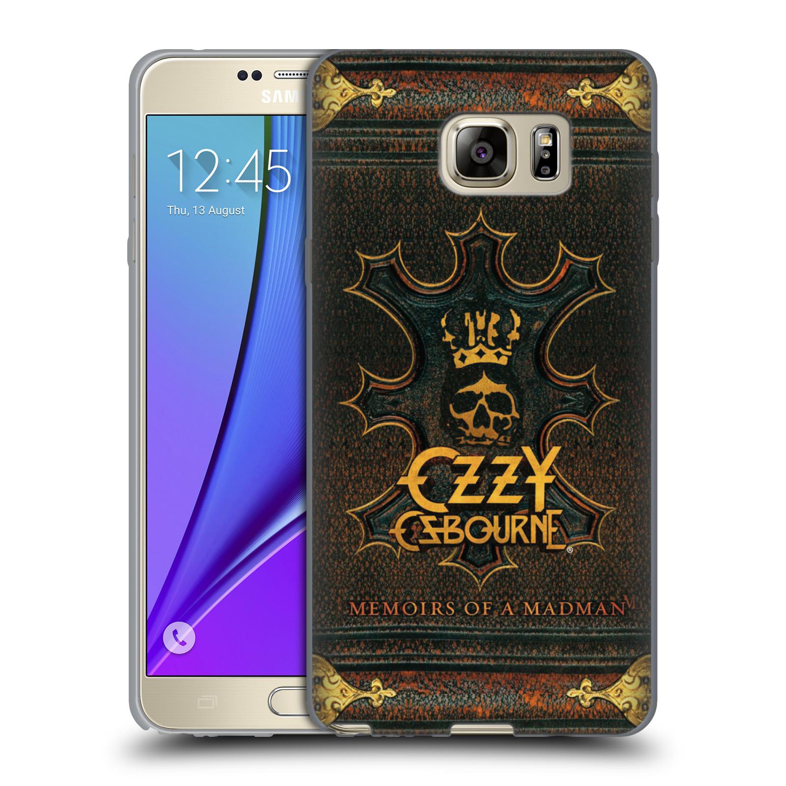 HEAD CASE silikonový obal na mobil Samsung Galaxy Note 5 zpěvák Ozzy Osbourne koruna