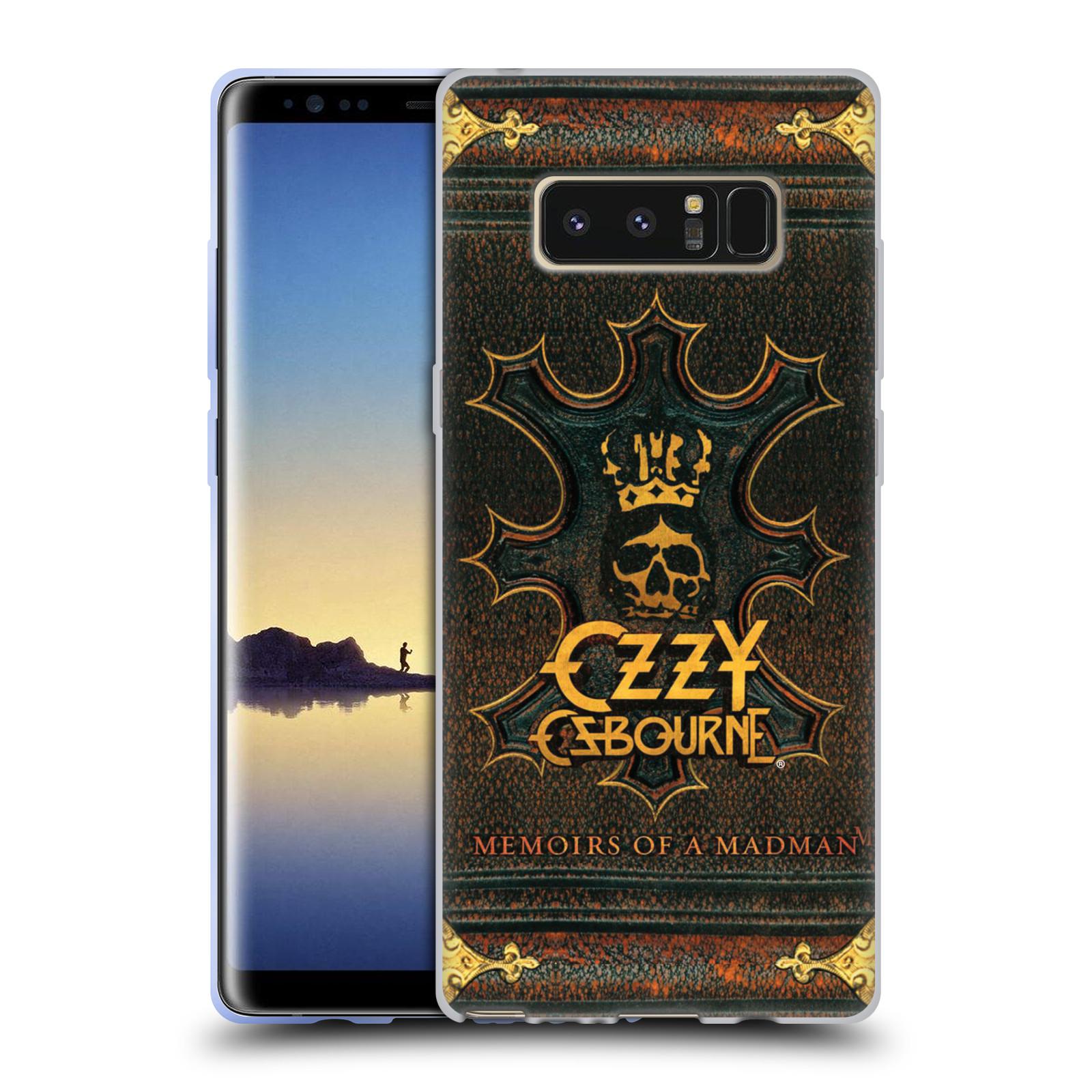 HEAD CASE silikonový obal na mobil Samsung Galaxy Note 8 zpěvák Ozzy Osbourne koruna