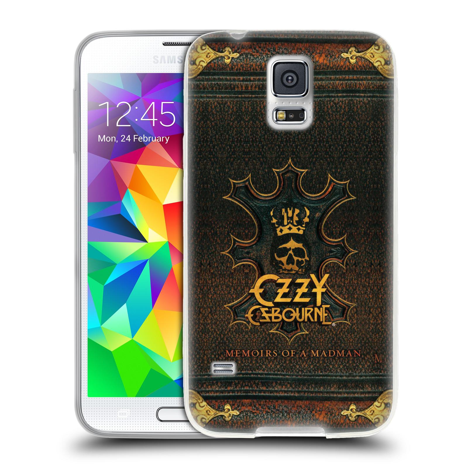 HEAD CASE silikonový obal na mobil Samsung Galaxy S5 zpěvák Ozzy Osbourne koruna