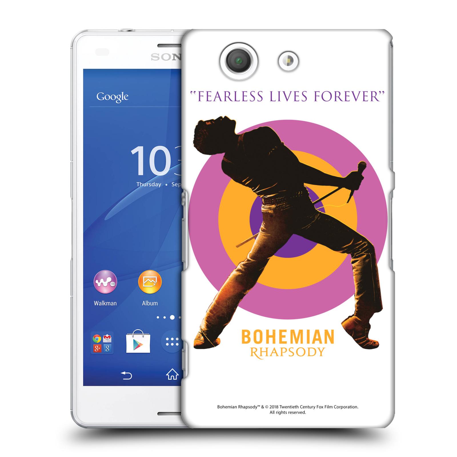 Pouzdro na mobil Sony Xperia Z3 COMPACT Filmový motiv Bohemian Rhapsody Queen silueta