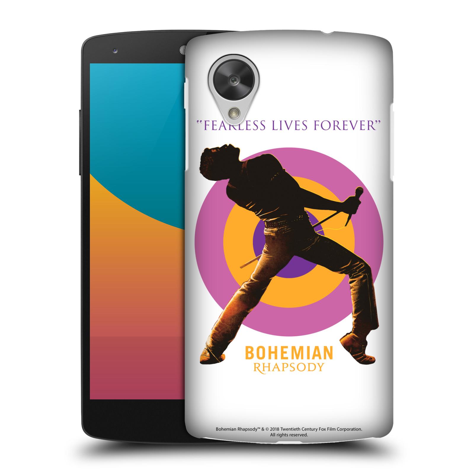 Pouzdro na mobil LG Nexus 5 Filmový motiv Bohemian Rhapsody Queen silueta