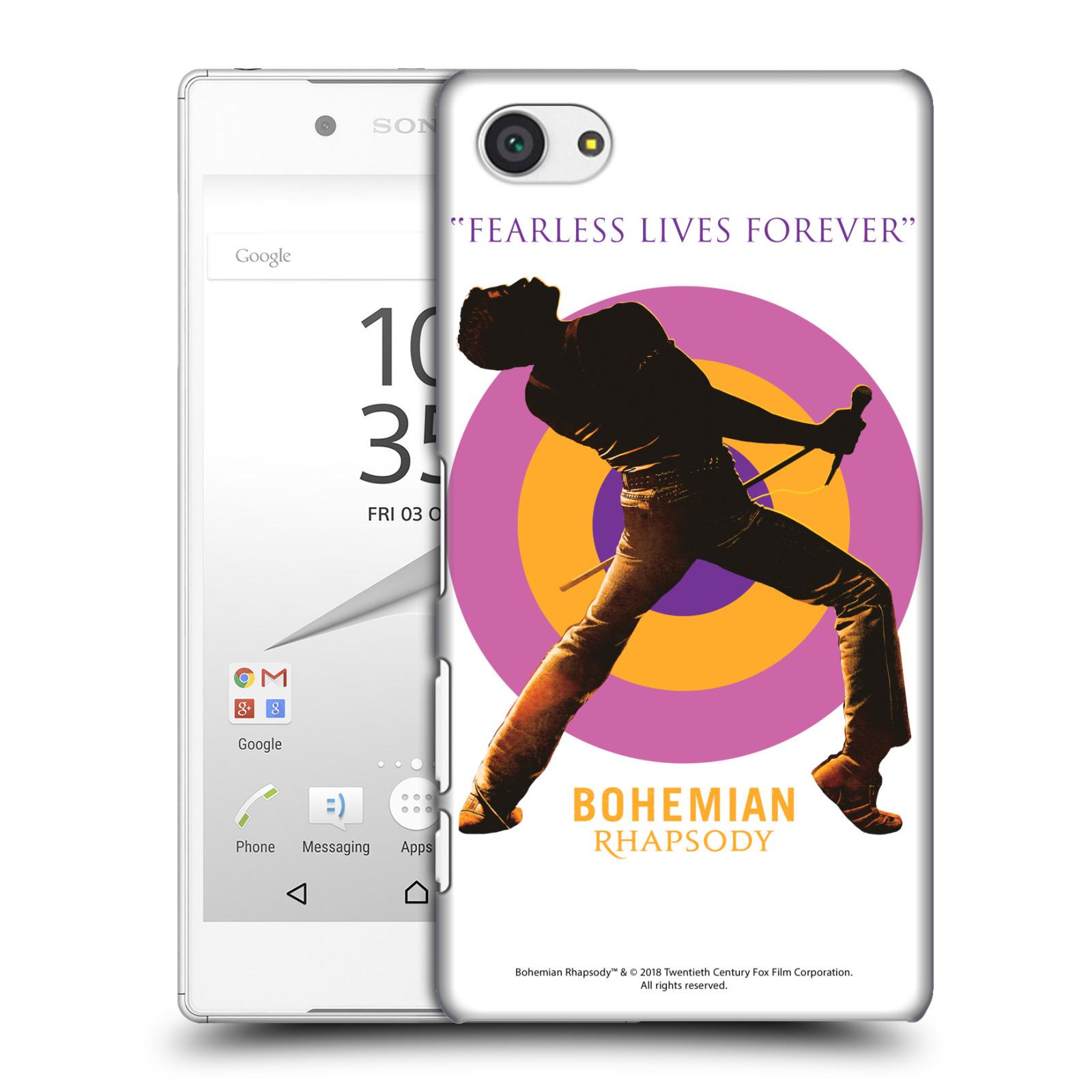 Pouzdro na mobil Sony Xperia Z5 COMPACT Filmový motiv Bohemian Rhapsody Queen silueta