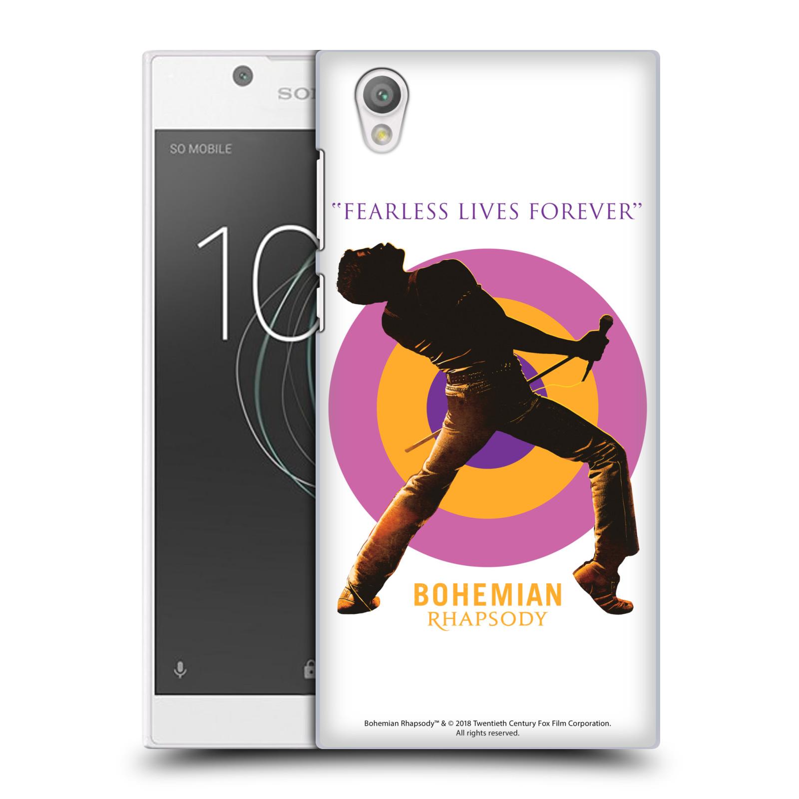 Pouzdro na mobil Sony Xperia L1 Filmový motiv Bohemian Rhapsody Queen silueta