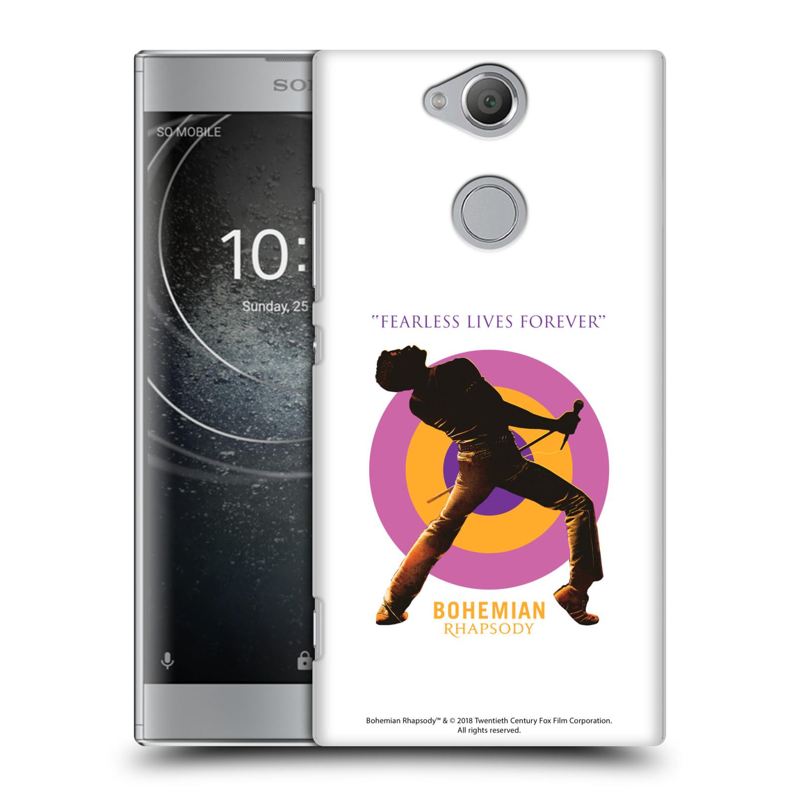 Pouzdro na mobil Sony Xperia XA2 Filmový motiv Bohemian Rhapsody Queen silueta