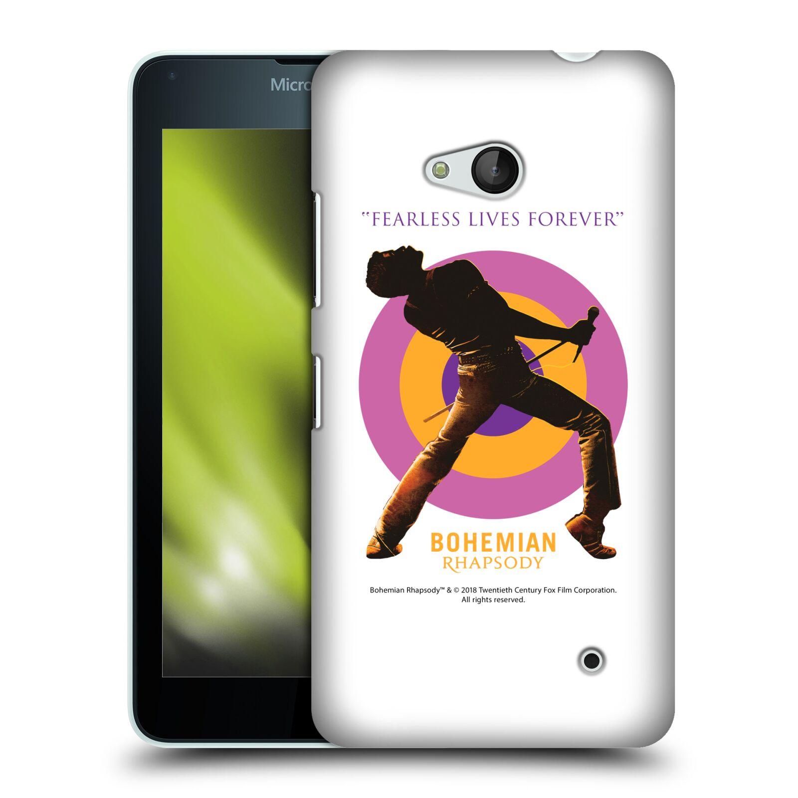 Pouzdro na mobil Microsoft Lumia 640 / 640 DUAL SIM Filmový motiv Bohemian Rhapsody Queen silueta