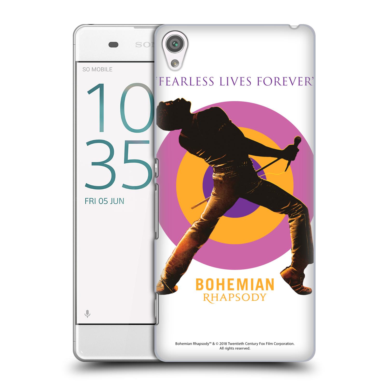 Pouzdro na mobil Sony Xperia XA Filmový motiv Bohemian Rhapsody Queen silueta