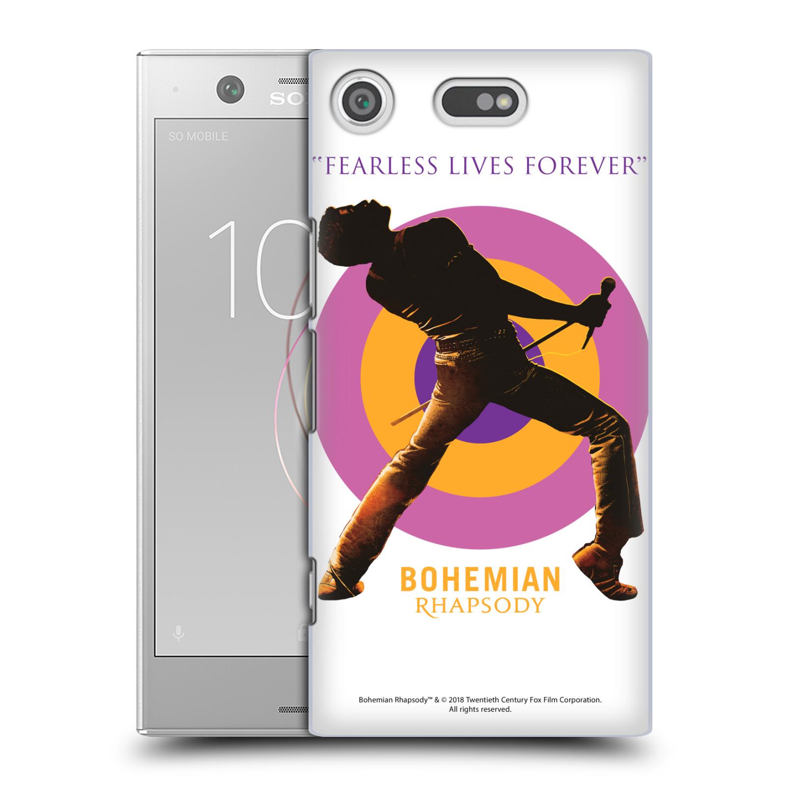 Pouzdro na mobil Sony Xperia XZ1 COMPACT Filmový motiv Bohemian Rhapsody Queen silueta