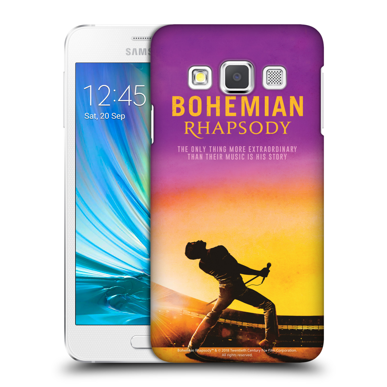 Pouzdro na mobil Samsung Galaxy A3 (A300) Filmový motiv Bohemian Rhapsody Queen