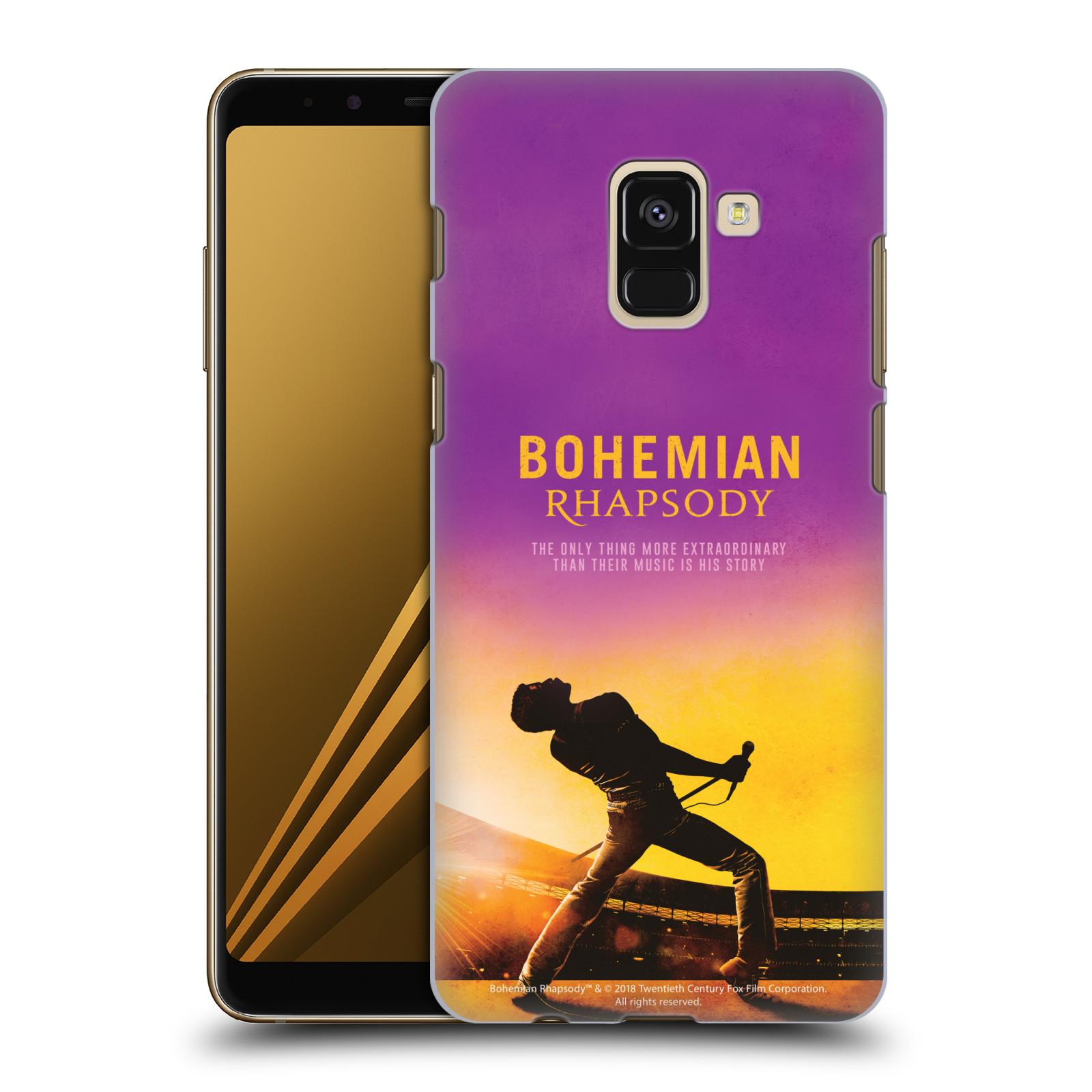 Pouzdro na mobil Samsung Galaxy A8 2018 Filmový motiv Bohemian Rhapsody Queen