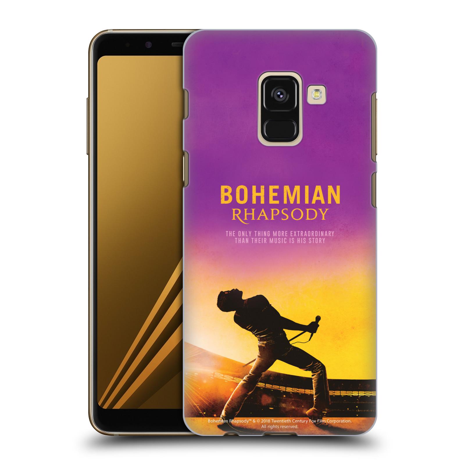 Pouzdro na mobil Samsung Galaxy A8+ 2018, A8 PLUS 2018 Filmový motiv Bohemian Rhapsody Queen