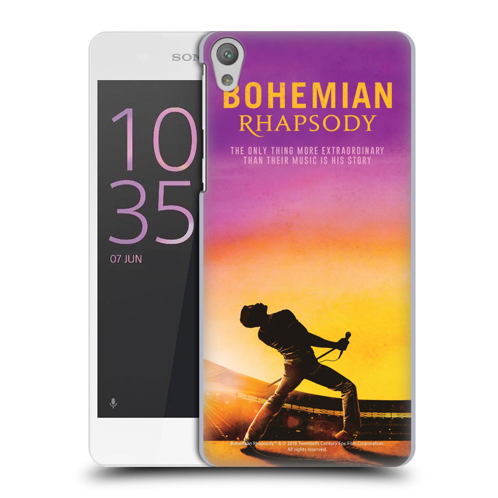 Pouzdro na mobil Sony Xperia E5 Filmový motiv Bohemian Rhapsody Queen