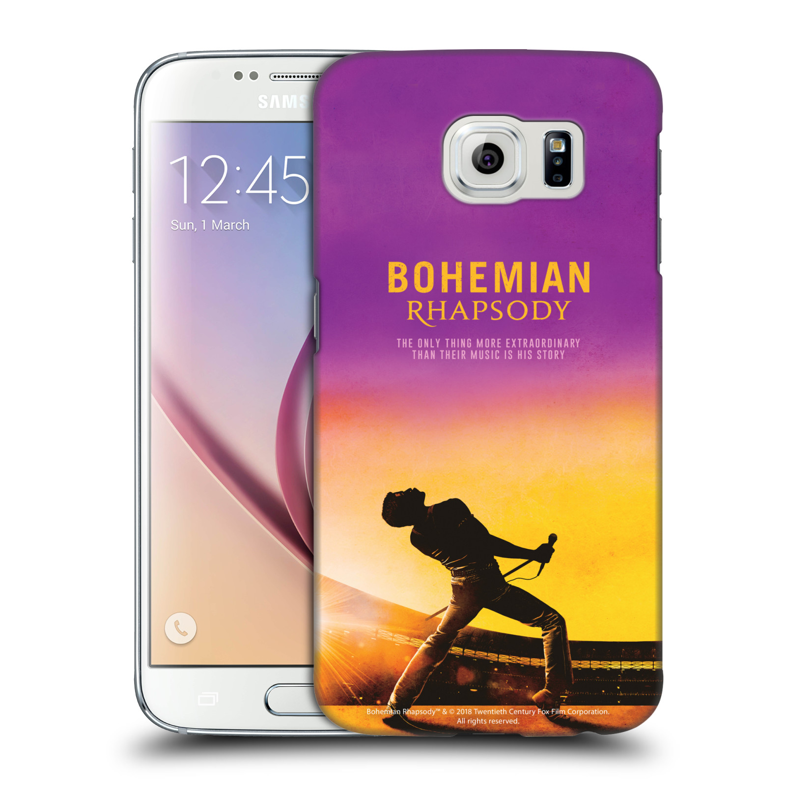 Pouzdro na mobil Samsung Galaxy S6 Filmový motiv Bohemian Rhapsody Queen