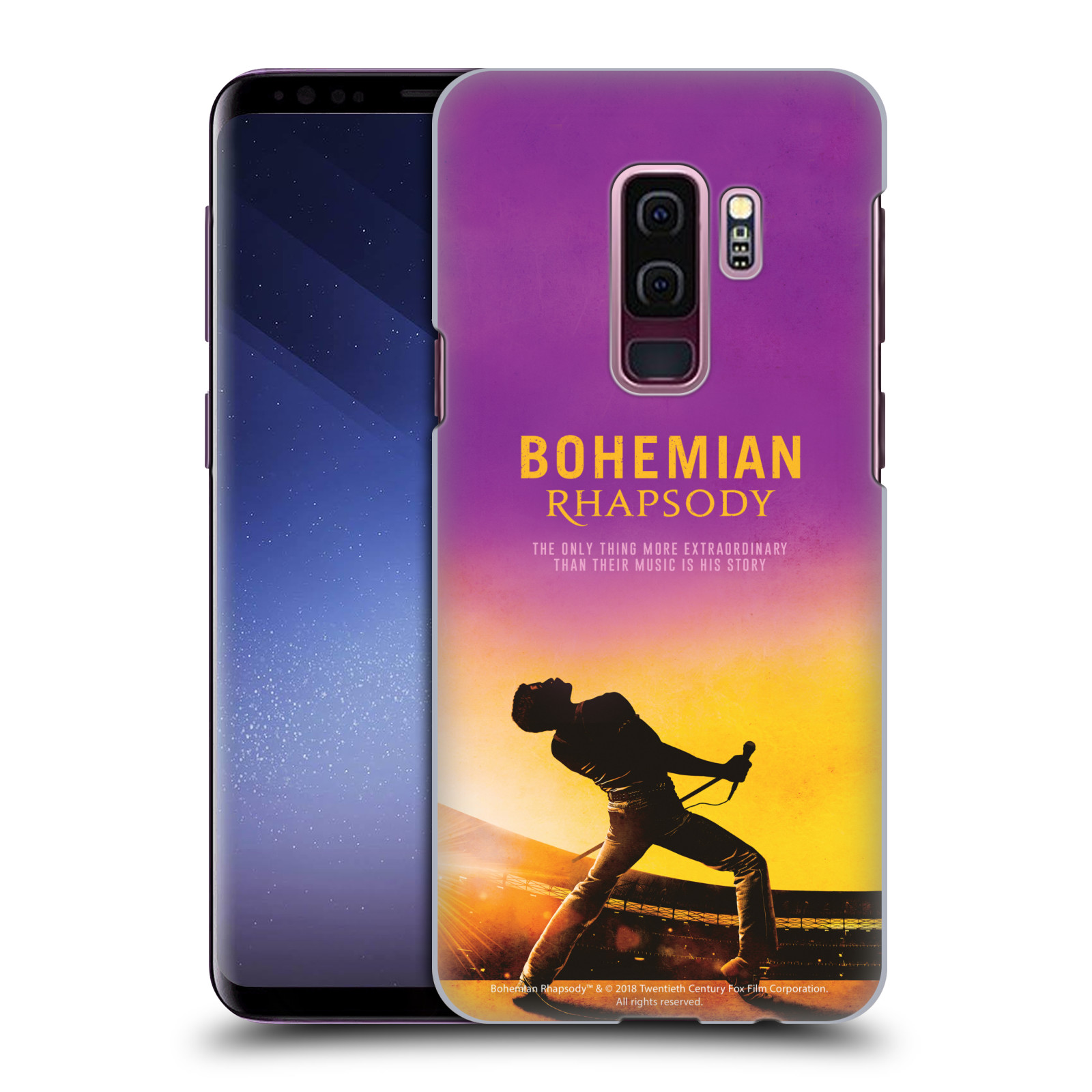 Pouzdro na mobil Samsung Galaxy S9+ / S9 PLUS Filmový motiv Bohemian Rhapsody Queen