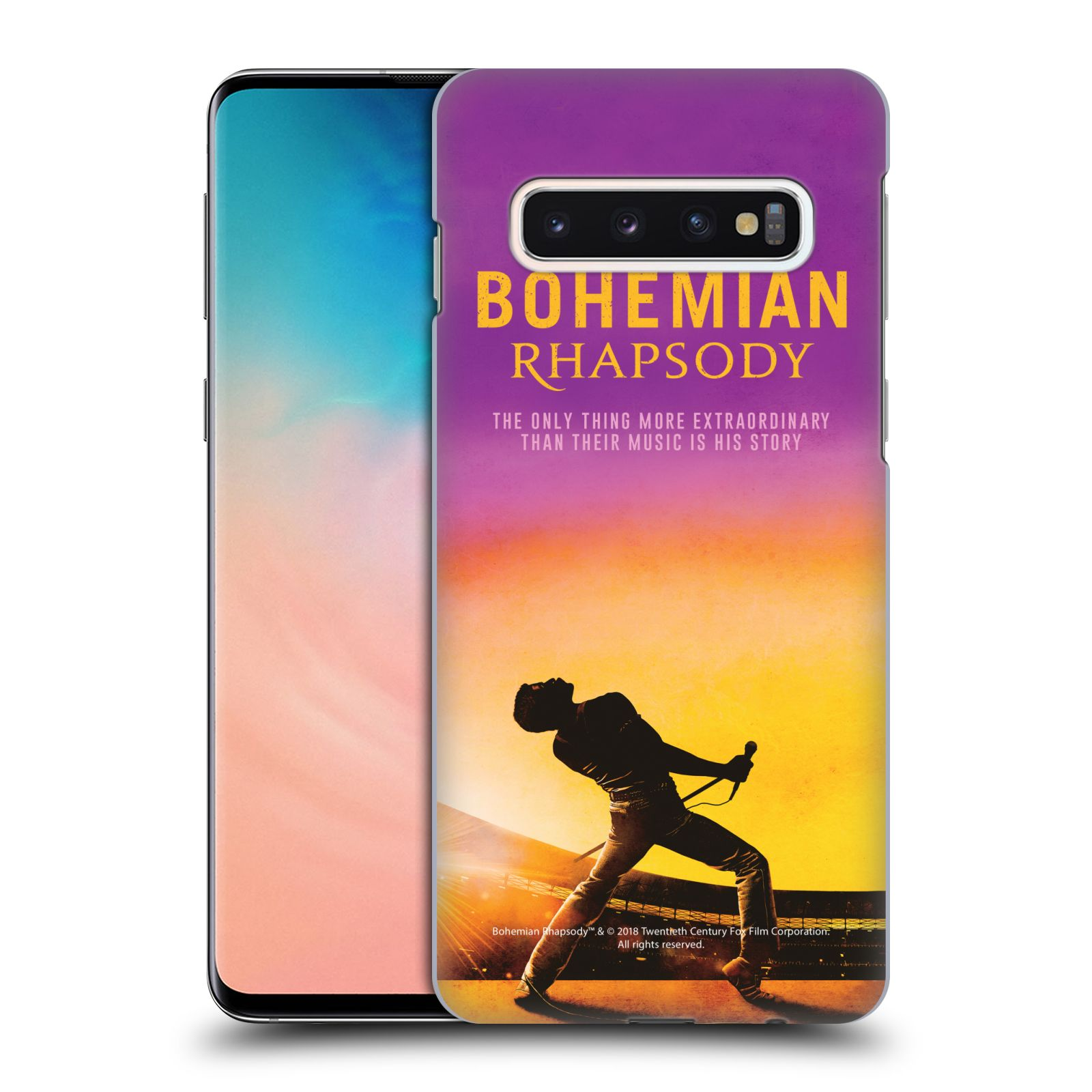 Pouzdro na mobil Samsung Galaxy S10 Filmový motiv Bohemian Rhapsody Queen