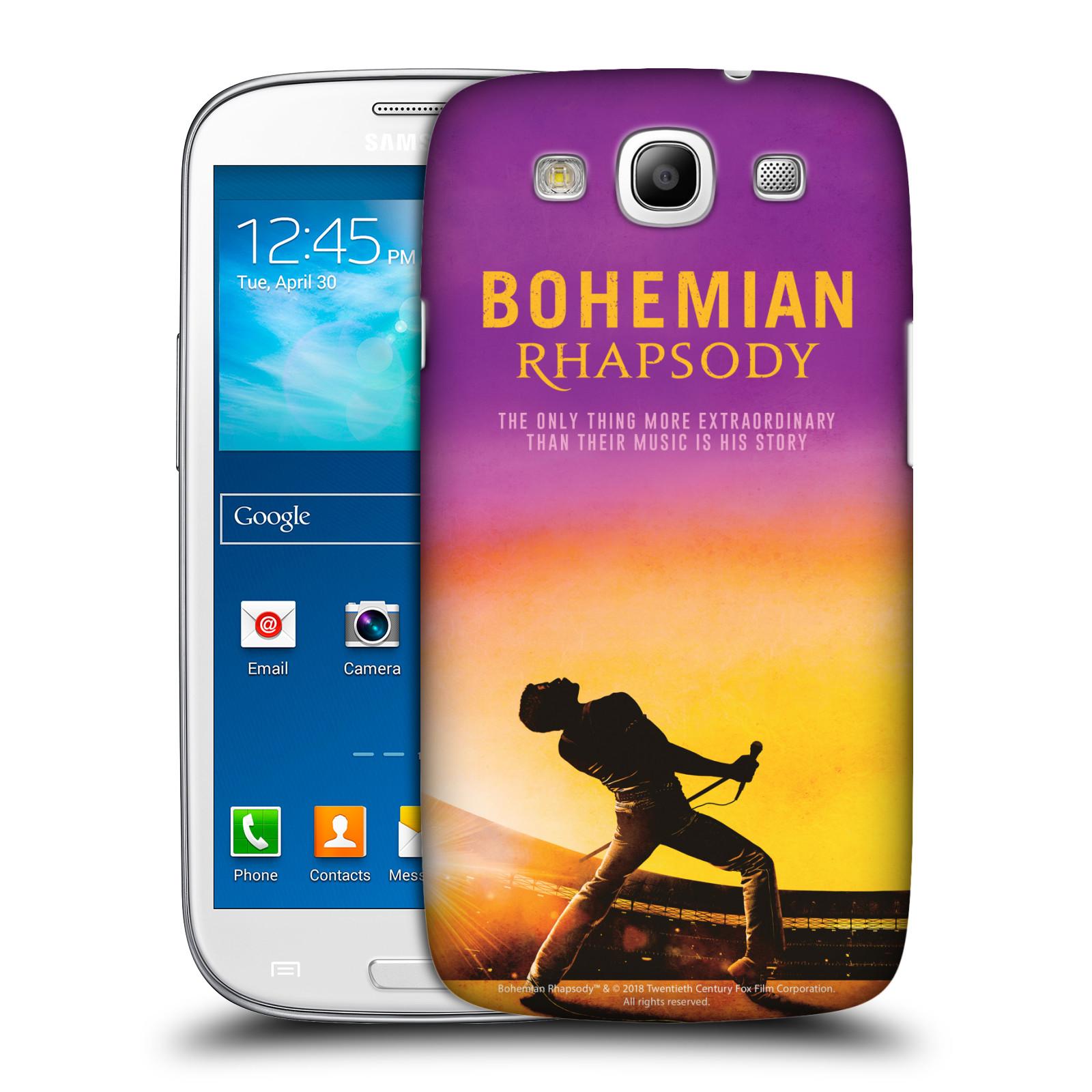 Pouzdro na mobil Samsung Galaxy S3 Filmový motiv Bohemian Rhapsody Queen
