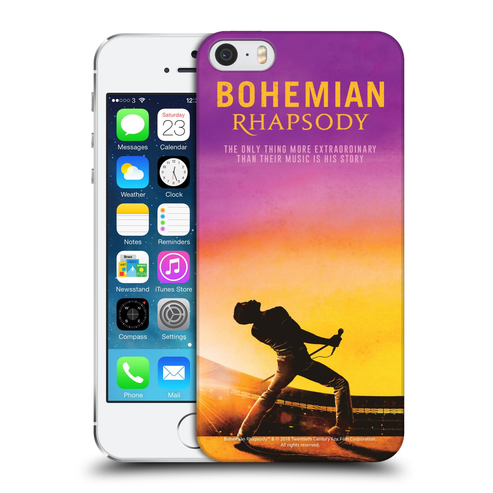 Pouzdro na mobil Apple Iphone 5/5S Filmový motiv Bohemian Rhapsody Queen