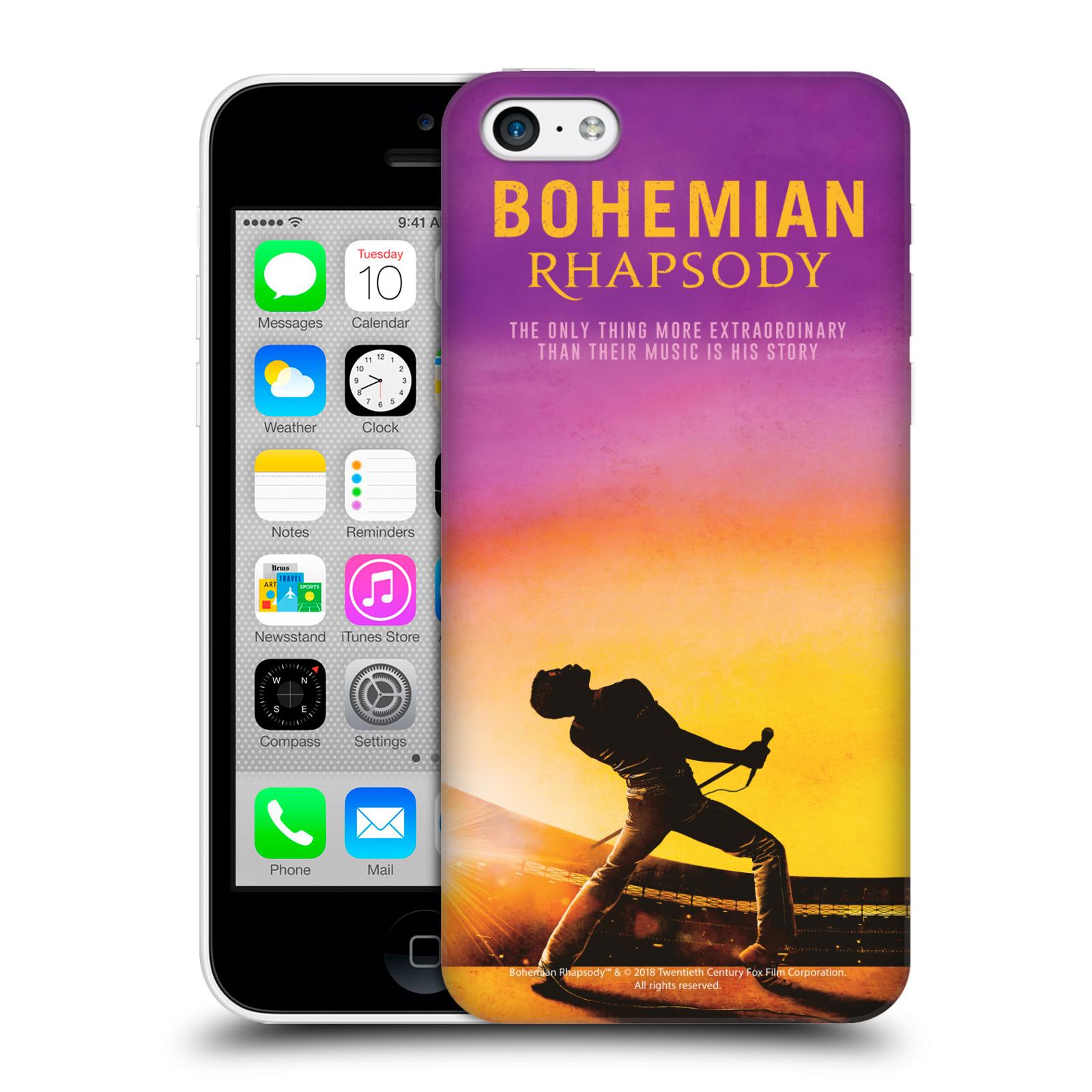 Pouzdro na mobil Apple Iphone 5C Filmový motiv Bohemian Rhapsody Queen