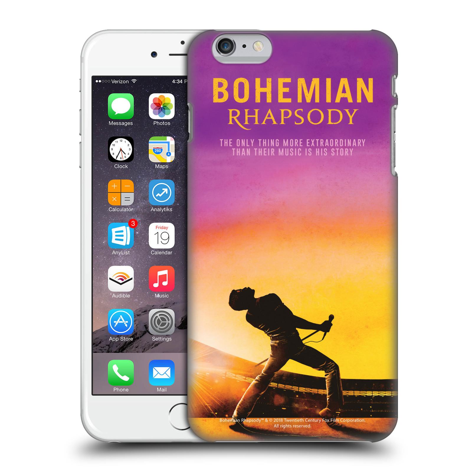 Pouzdro na mobil Apple Iphone 6/6S PLUS Filmový motiv Bohemian Rhapsody Queen