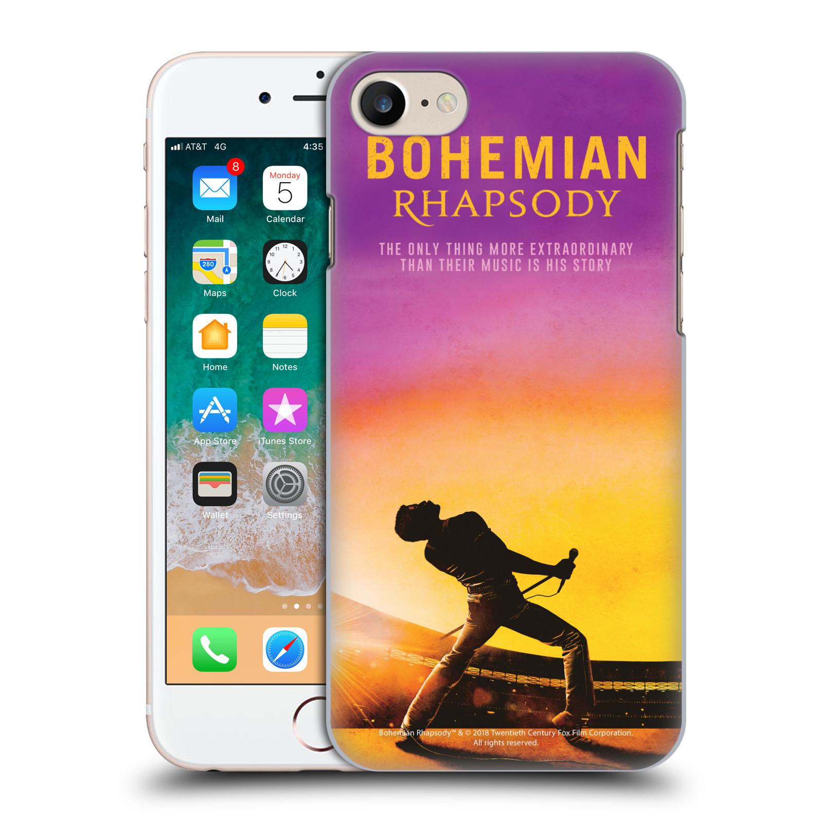 Pouzdro na mobil Apple Iphone 7/8 Filmový motiv Bohemian Rhapsody Queen