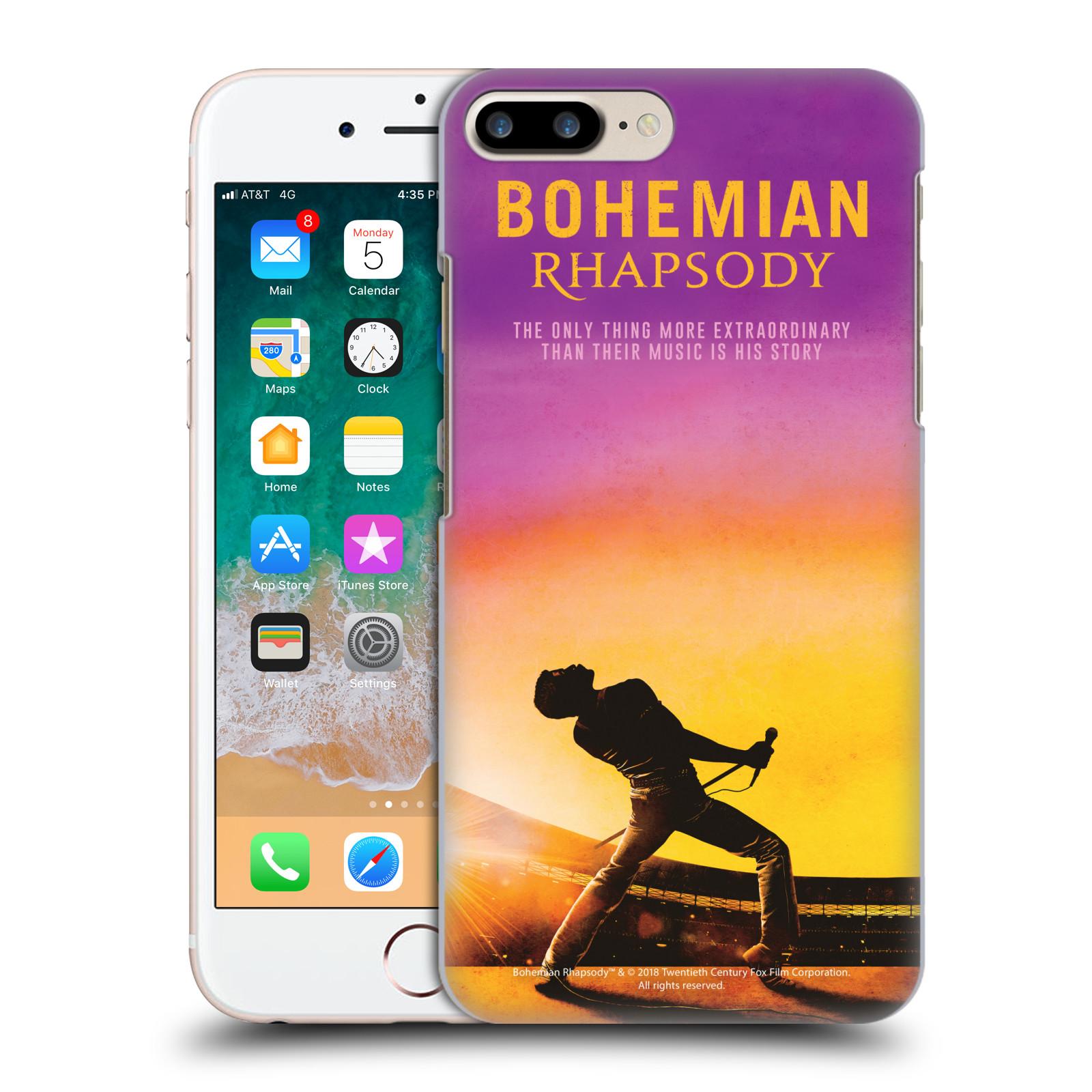Pouzdro na mobil Apple Iphone 7/8 PLUS Filmový motiv Bohemian Rhapsody Queen