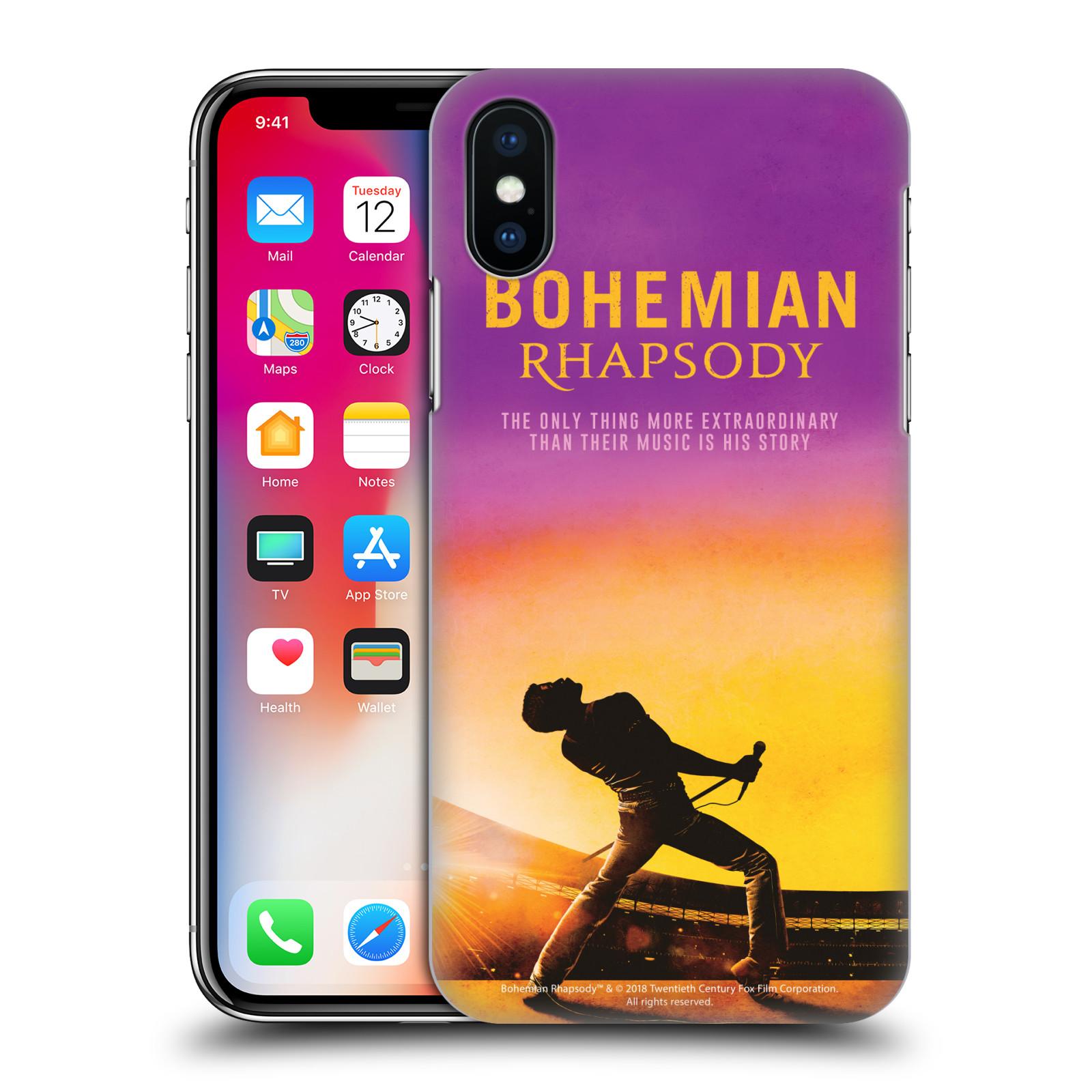 Pouzdro na mobil Apple Iphone X/XS Filmový motiv Bohemian Rhapsody Queen