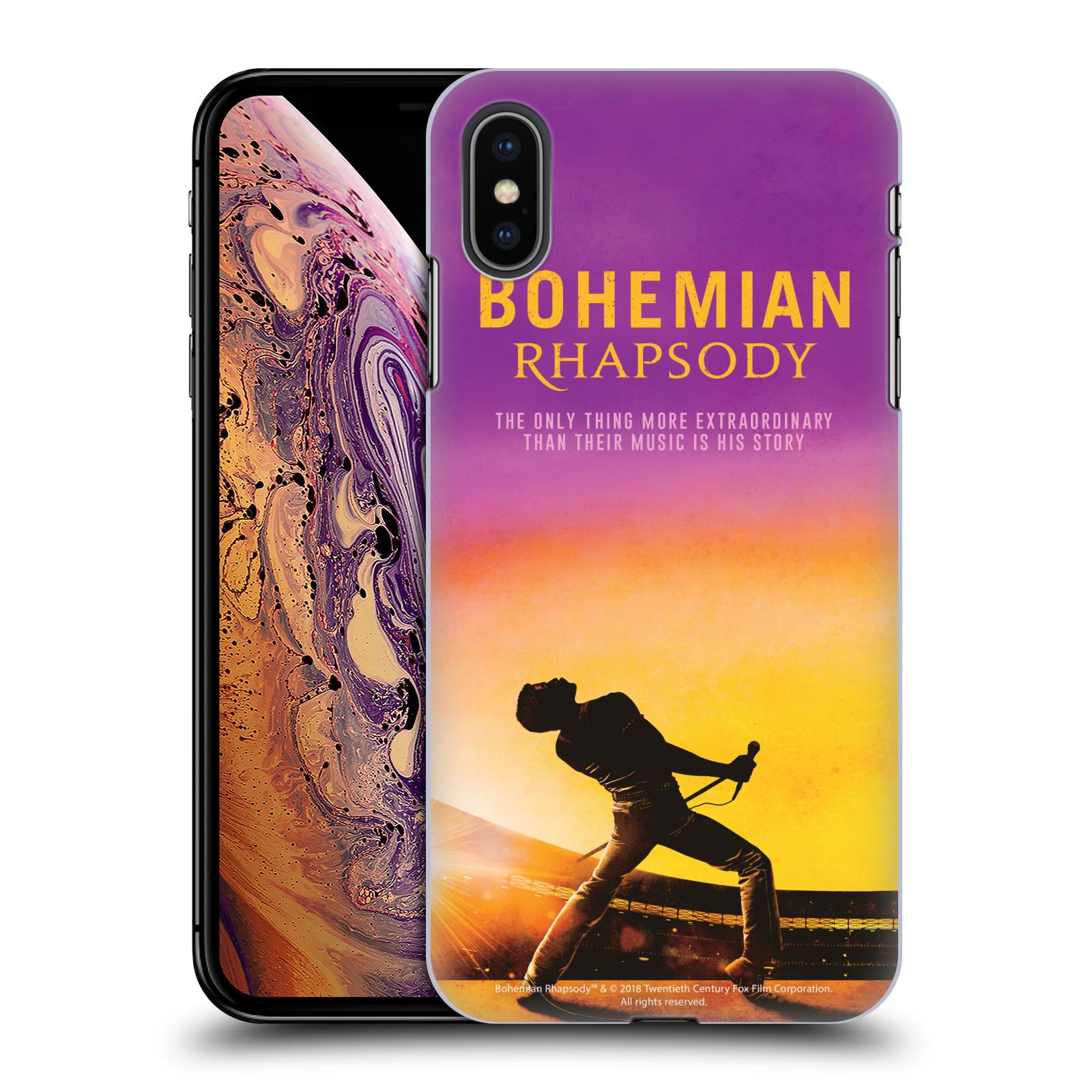 Pouzdro na mobil Apple Iphone XS MAX Filmový motiv Bohemian Rhapsody Queen