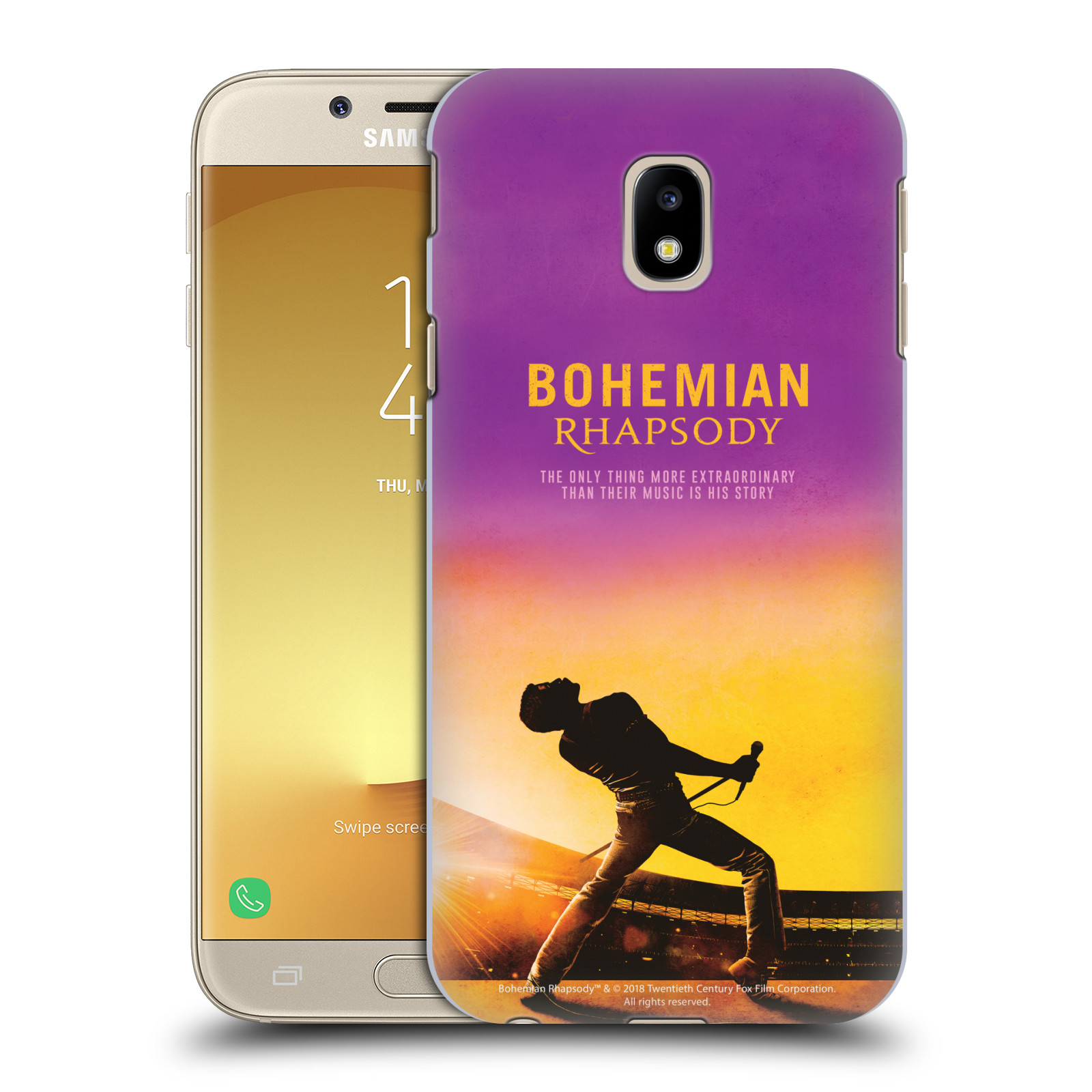 Pouzdro na mobil Samsung Galaxy J3 2017 (J330, J330F) Filmový motiv Bohemian Rhapsody Queen