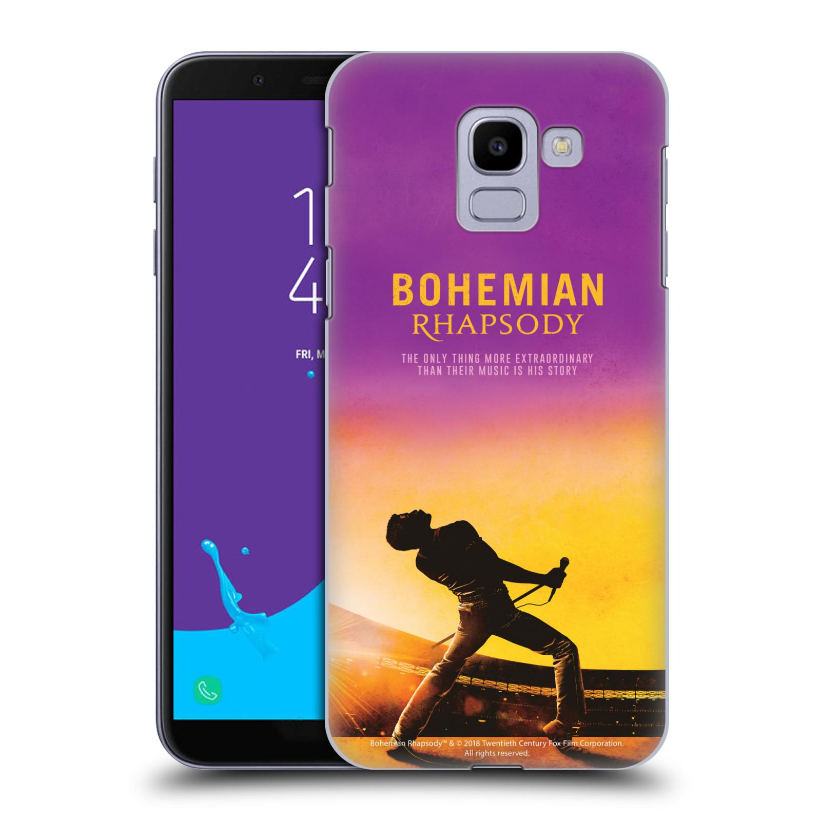 Pouzdro na mobil Samsung Galaxy J6 Filmový motiv Bohemian Rhapsody Queen