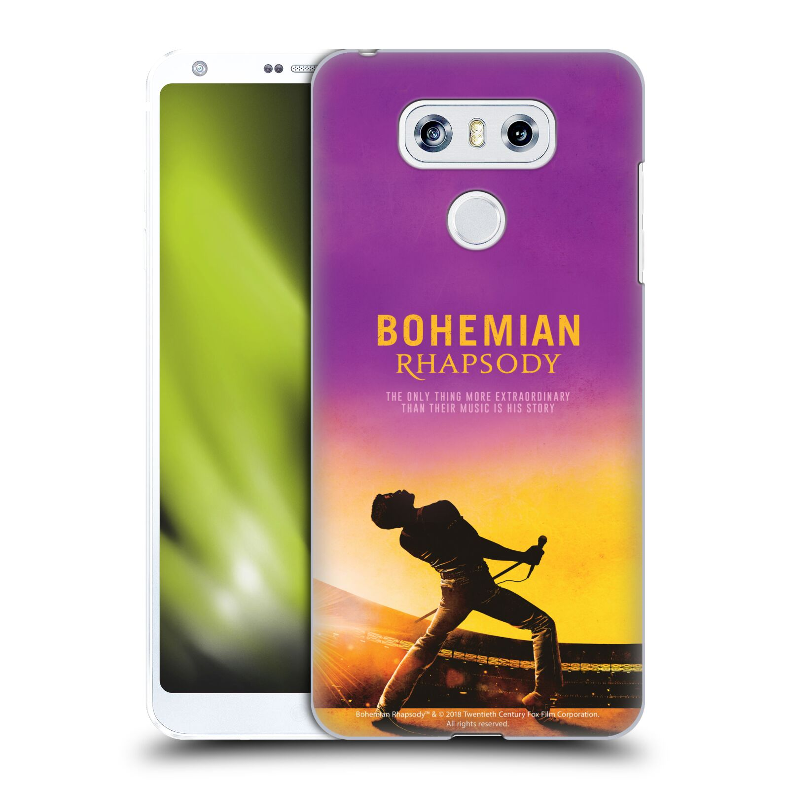 Pouzdro na mobil LG G6 / G6 DUAL Filmový motiv Bohemian Rhapsody Queen