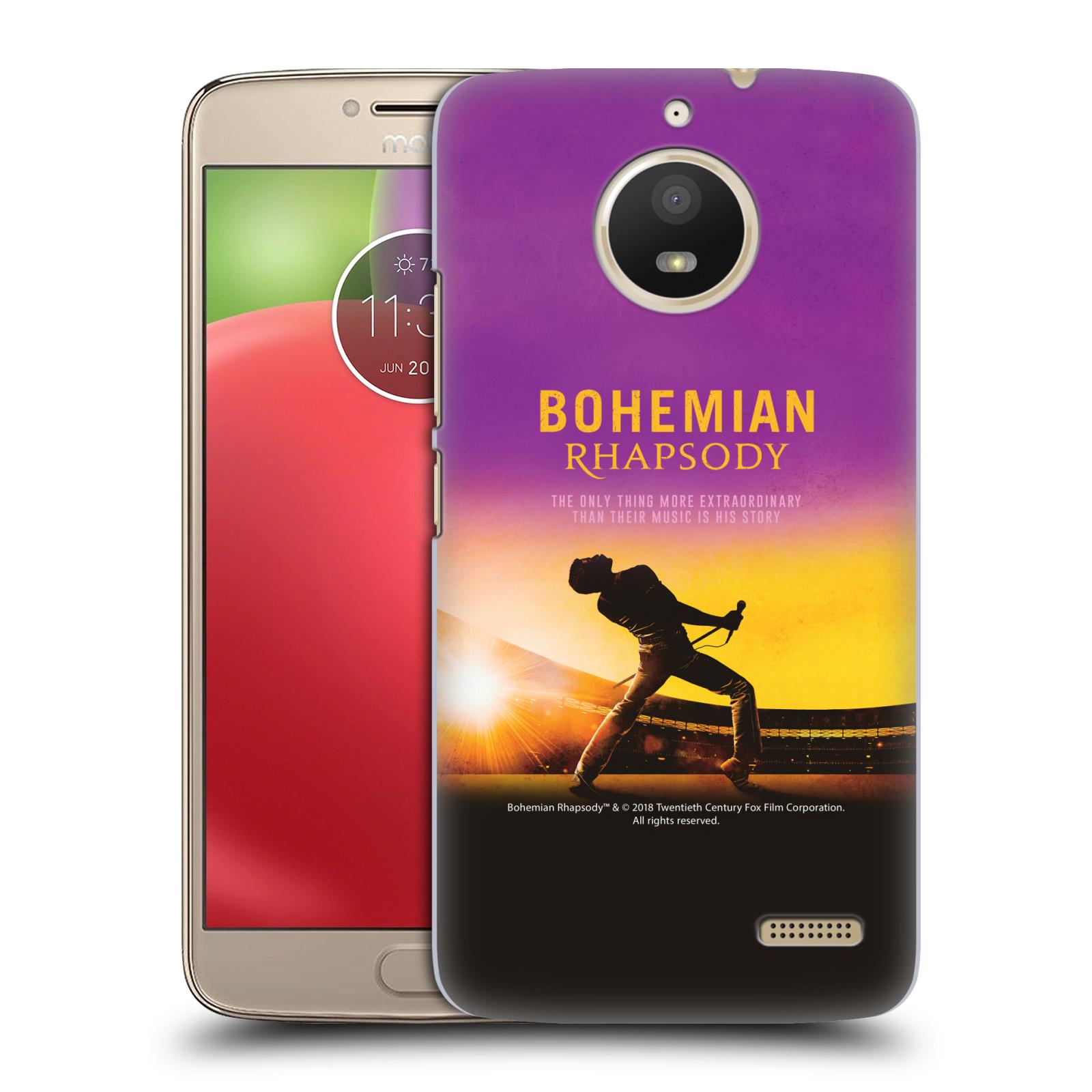 Pouzdro na mobil Lenovo Moto E4 Filmový motiv Bohemian Rhapsody Queen