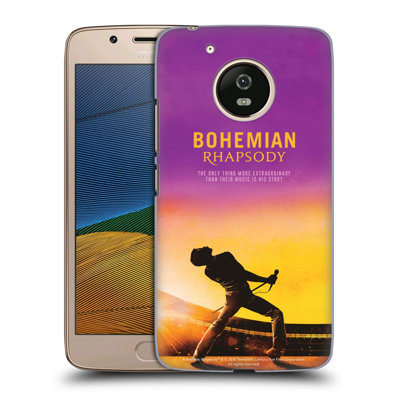 Pouzdro na mobil Lenovo Moto G5 Filmový motiv Bohemian Rhapsody Queen