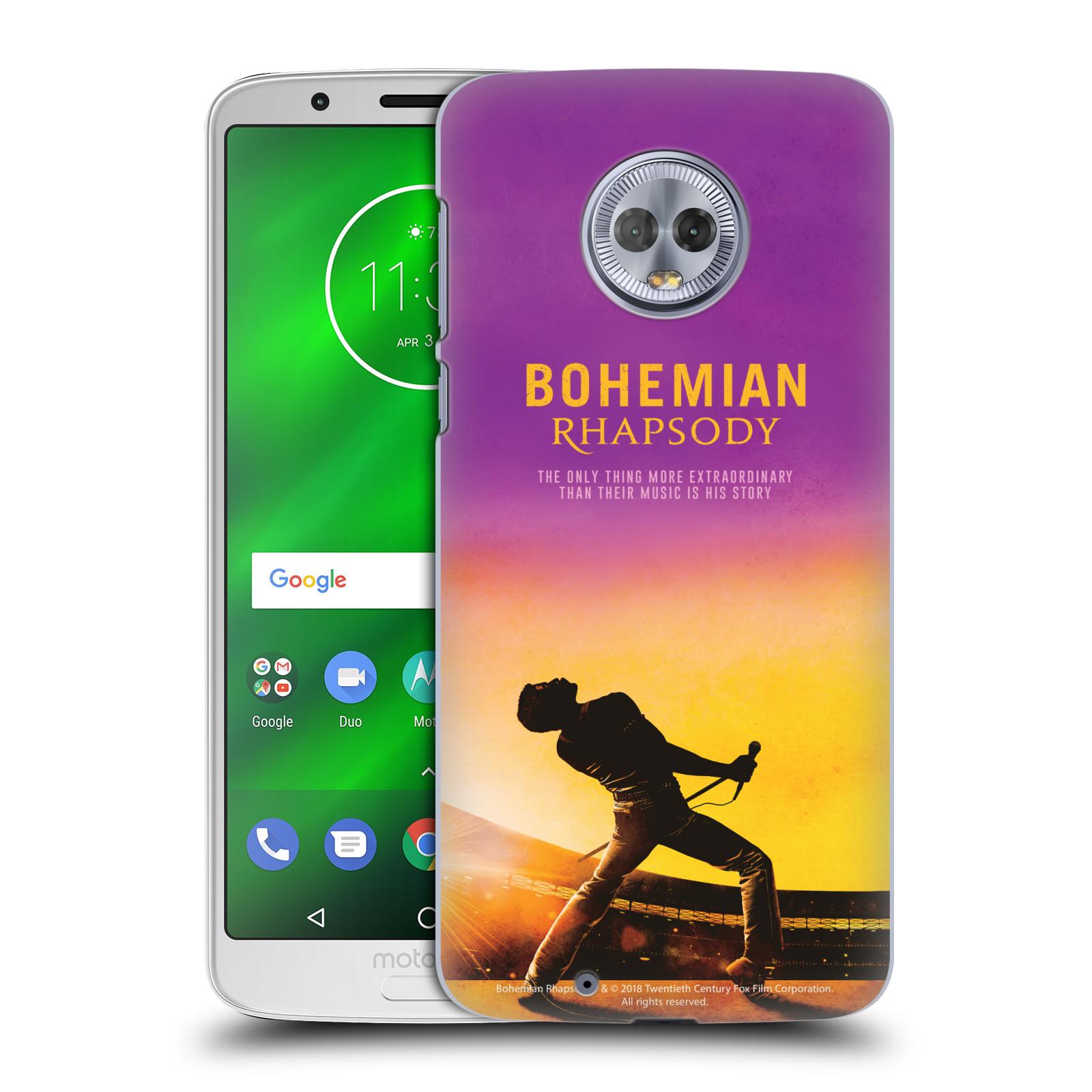 Pouzdro na mobil Motorola Moto G6 Filmový motiv Bohemian Rhapsody Queen