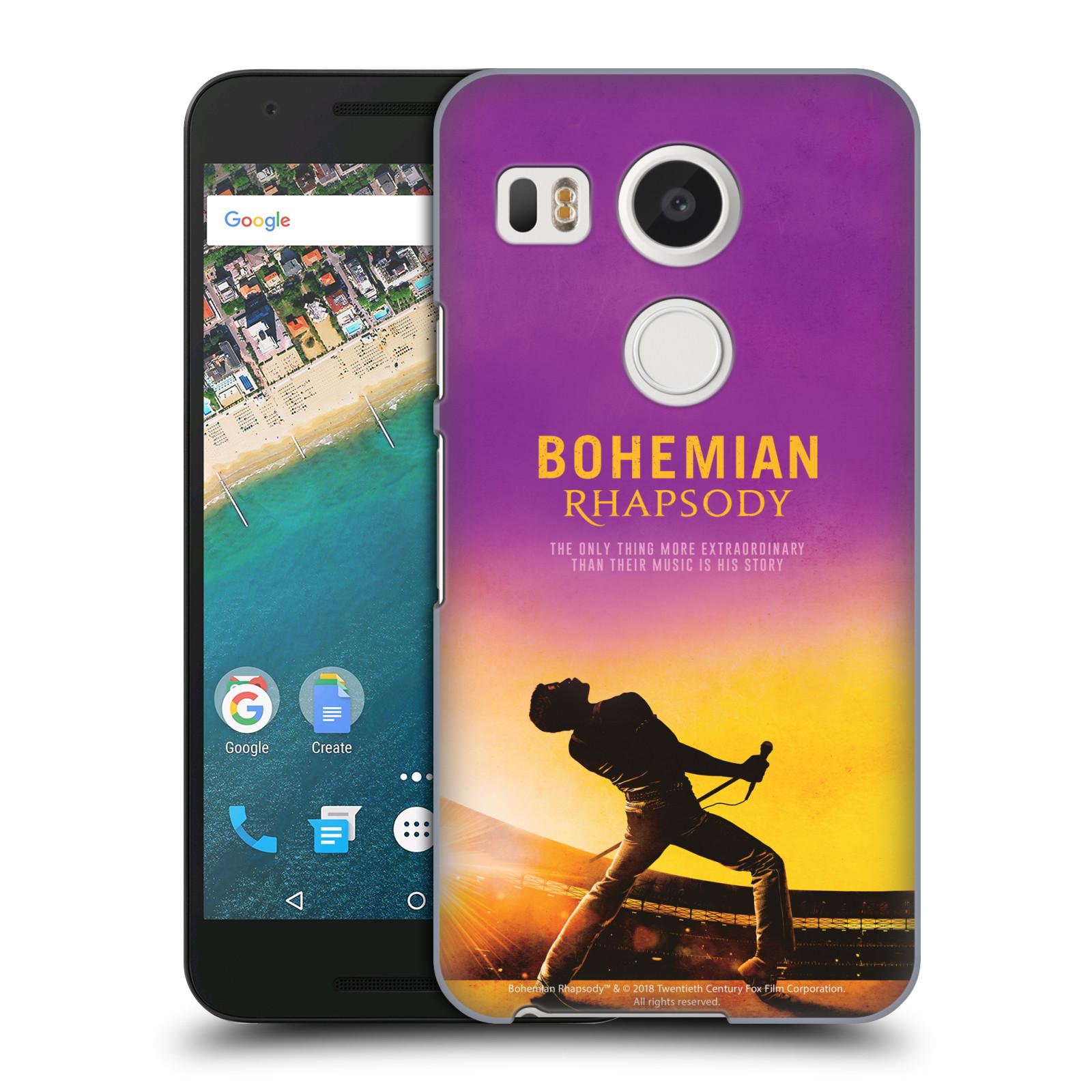 Pouzdro na mobil LG NEXUS 5X Filmový motiv Bohemian Rhapsody Queen