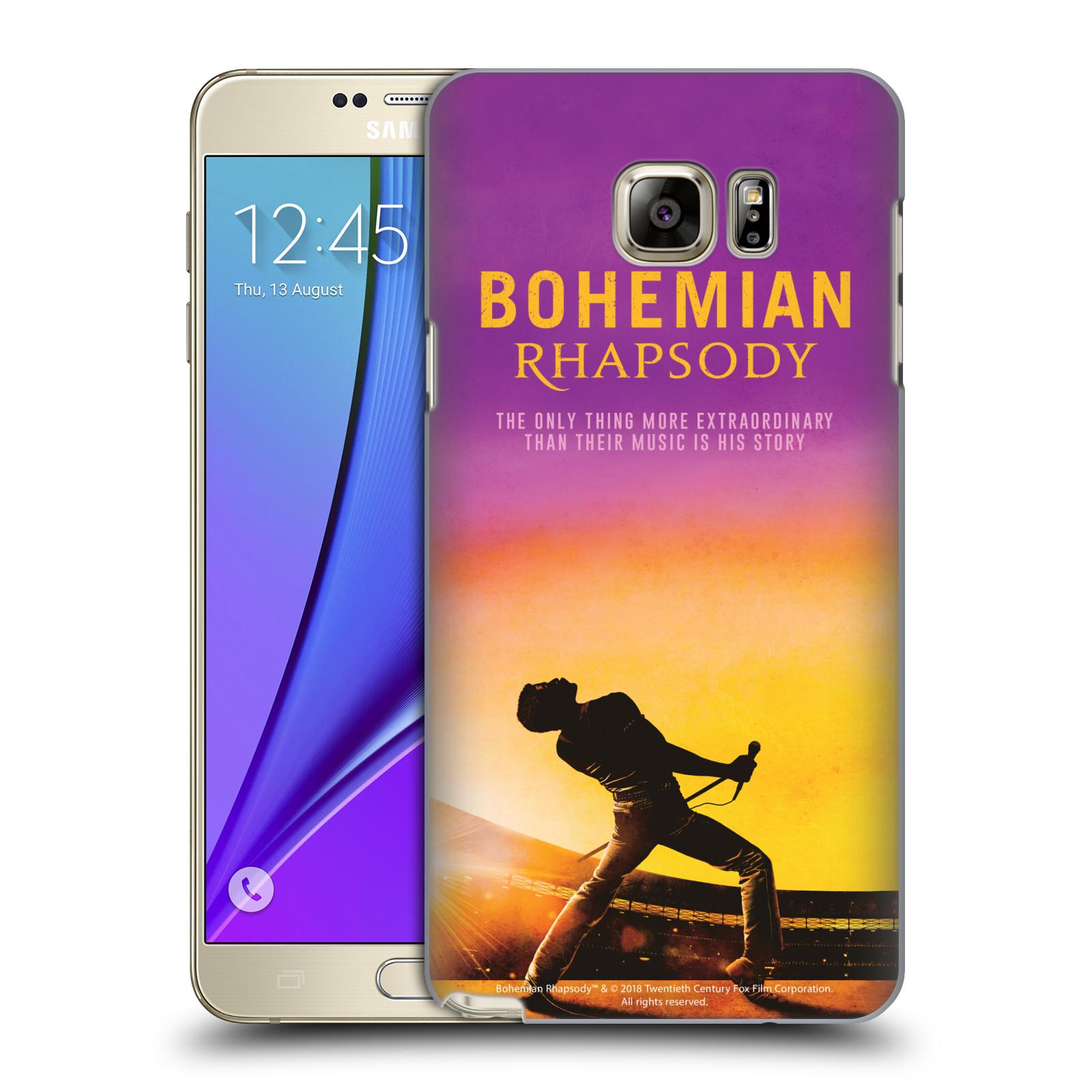 Pouzdro na mobil Samsung Galaxy Note 5 Filmový motiv Bohemian Rhapsody Queen