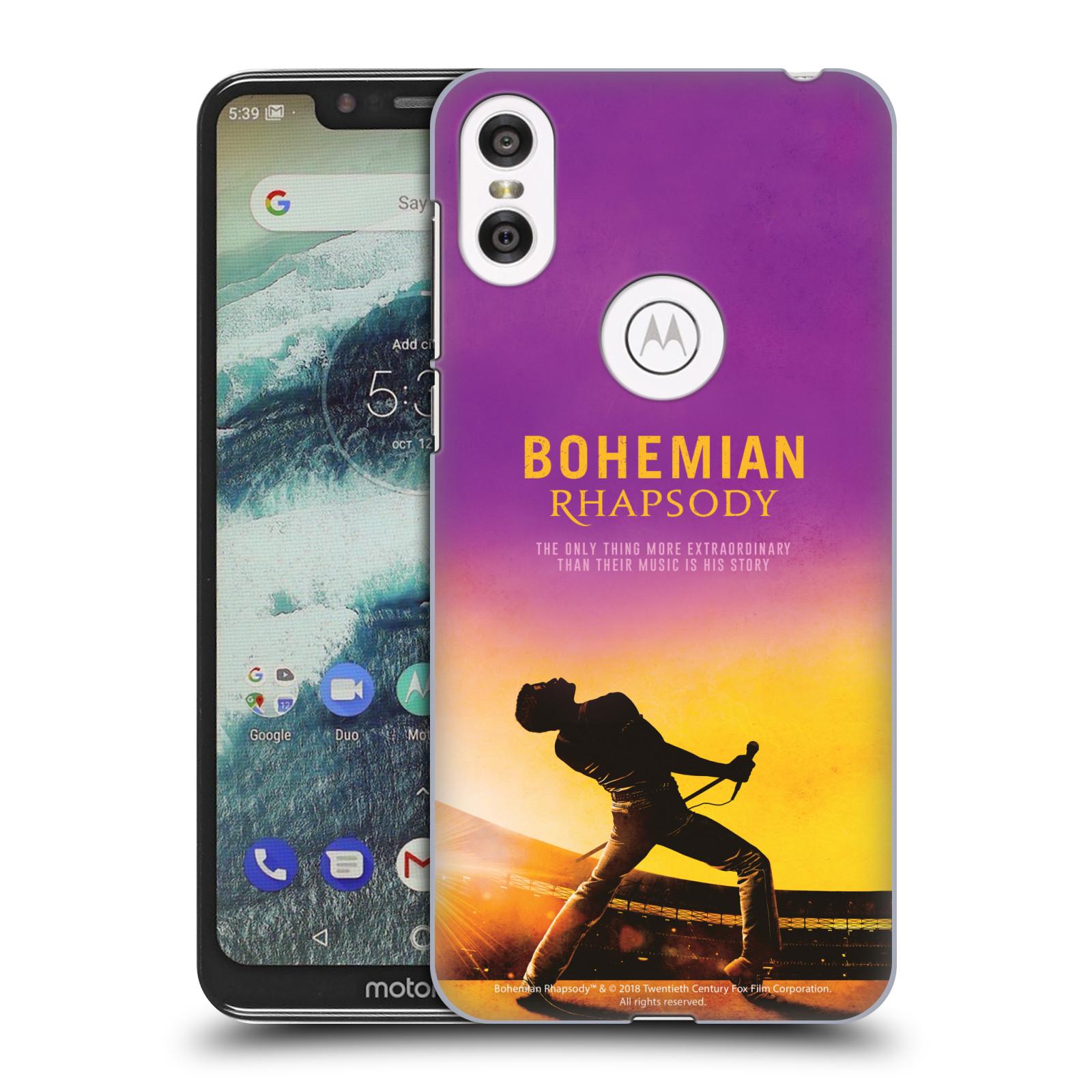 Pouzdro na mobil Motorola Moto ONE Filmový motiv Bohemian Rhapsody Queen