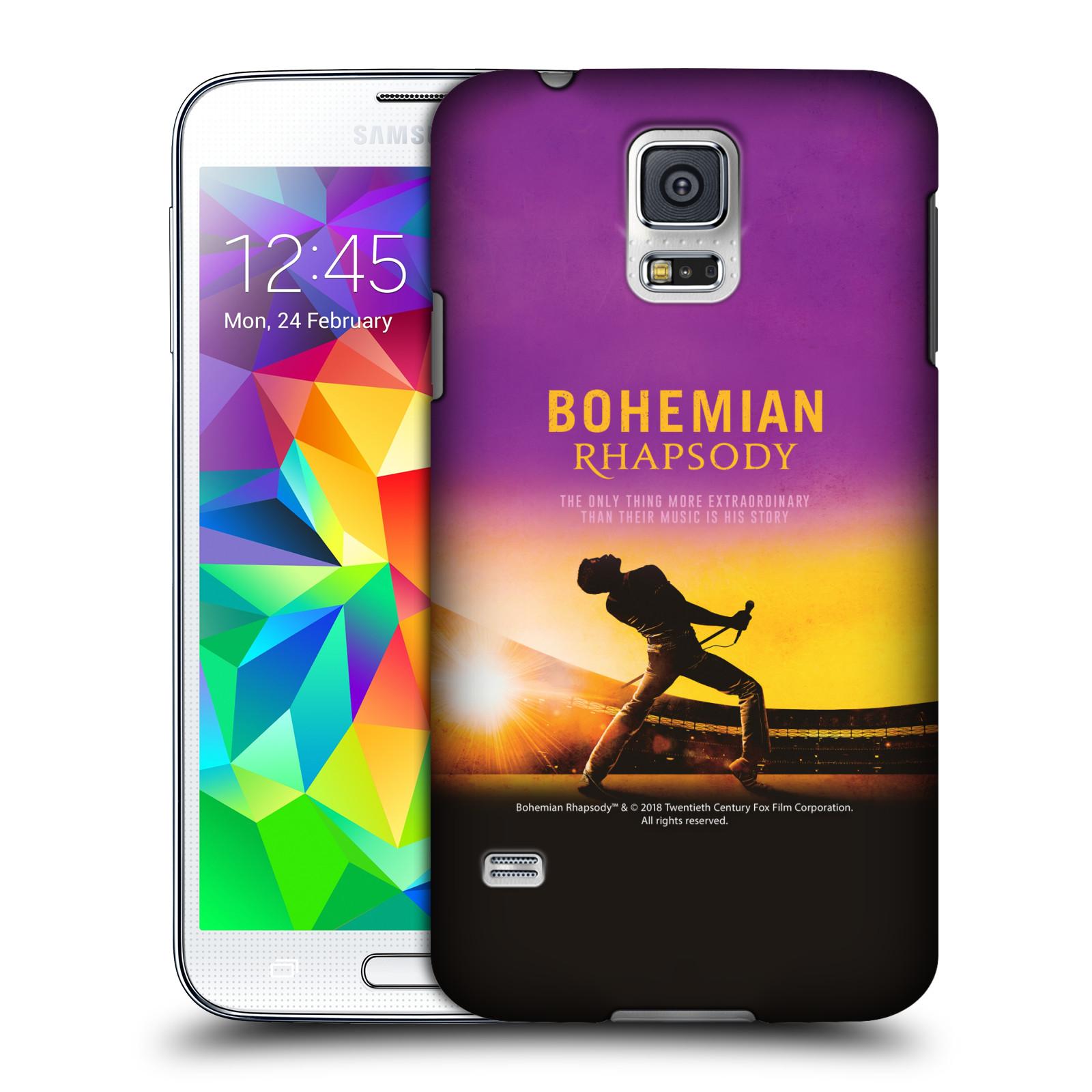 Pouzdro na mobil Samsung Galaxy S5 Filmový motiv Bohemian Rhapsody Queen
