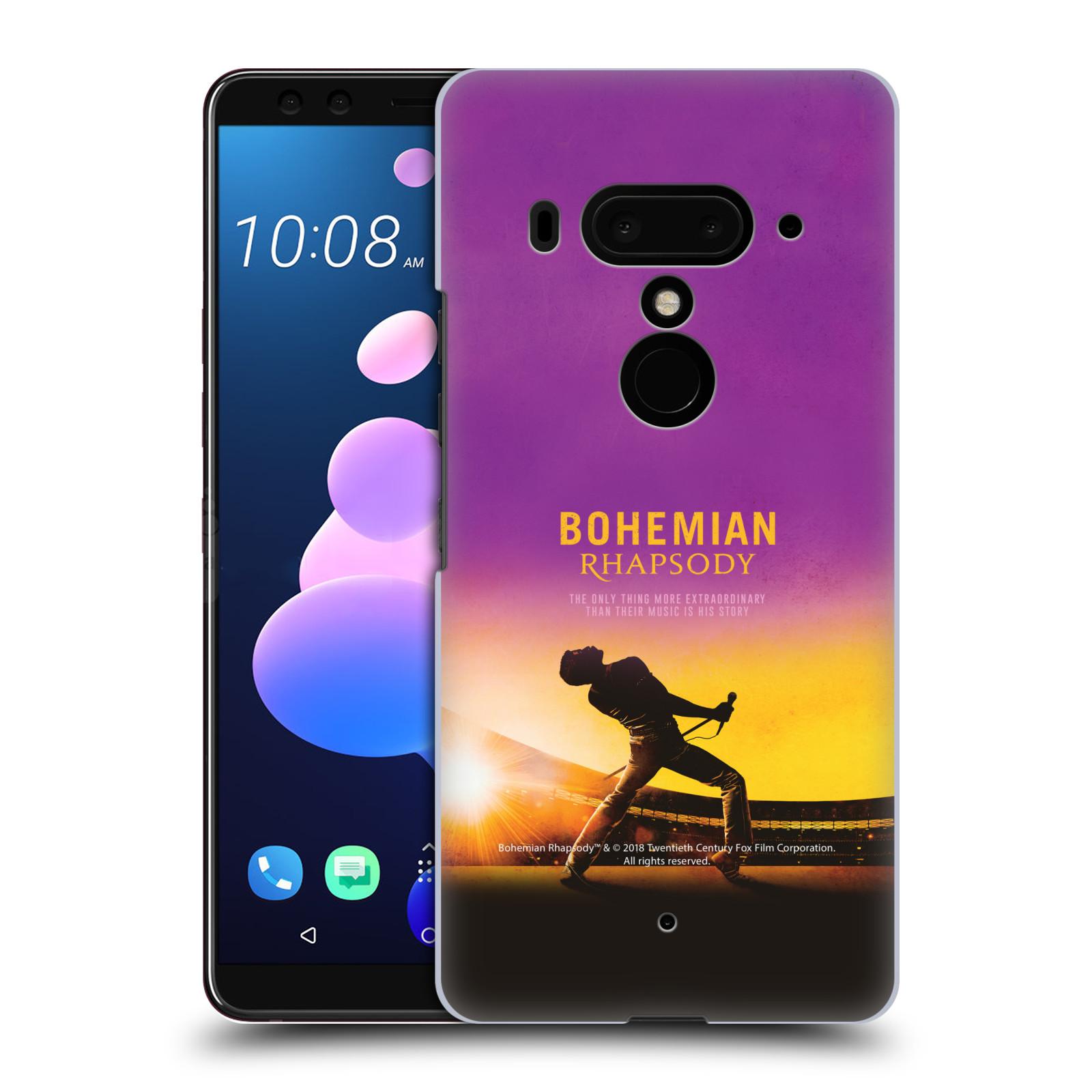 Pouzdro na mobil HTC U 12 PLUS / U 12+ DUAL SIM Filmový motiv Bohemian Rhapsody Queen
