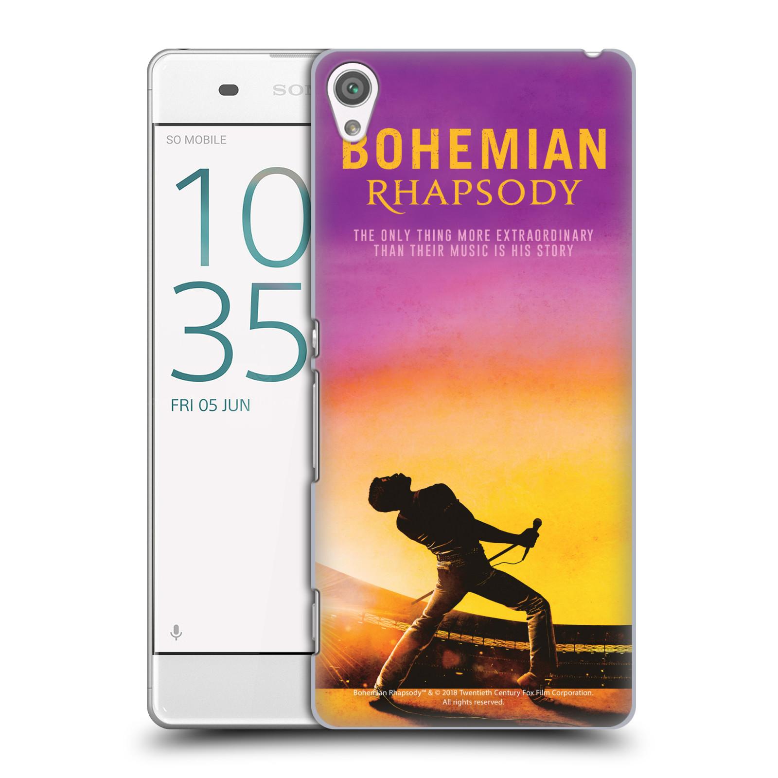 Pouzdro na mobil Sony Xperia XA Filmový motiv Bohemian Rhapsody Queen