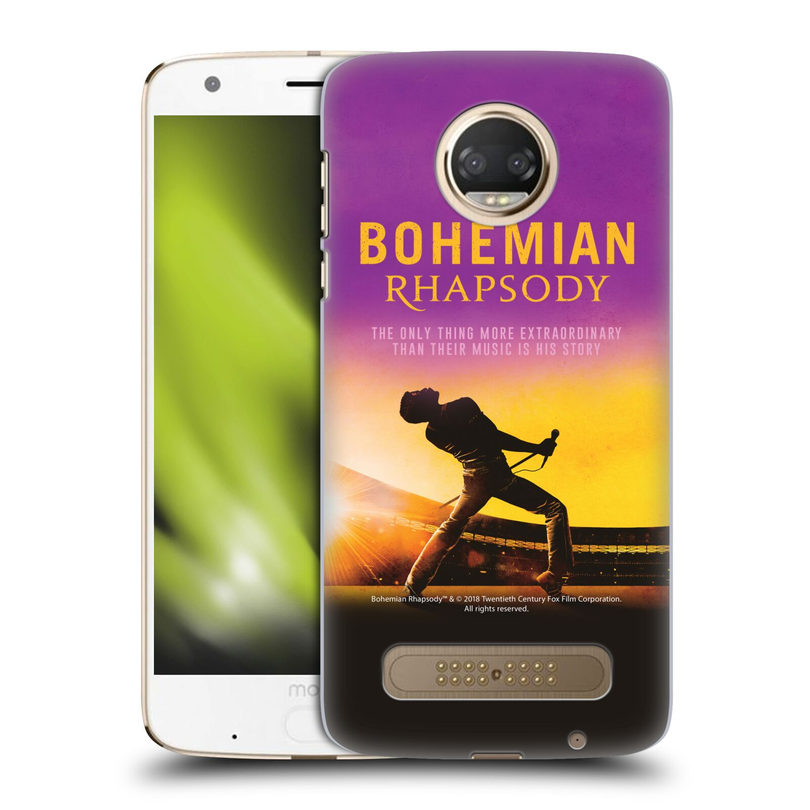 Pouzdro na mobil Motorola Moto Z2 PLAY Filmový motiv Bohemian Rhapsody Queen