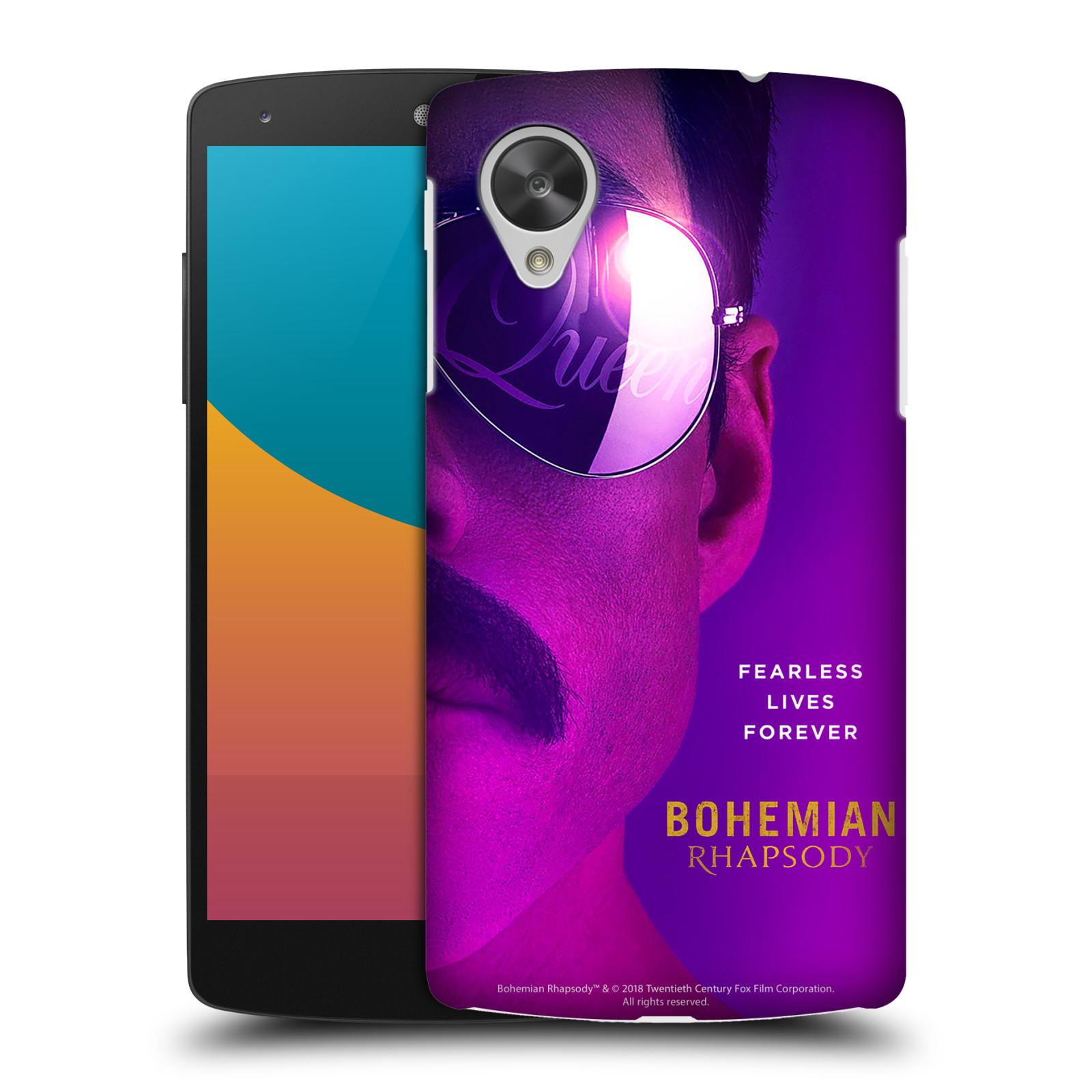 Pouzdro na mobil LG Nexus 5 Filmový motiv Bohemian Rhapsody Queen Tvář