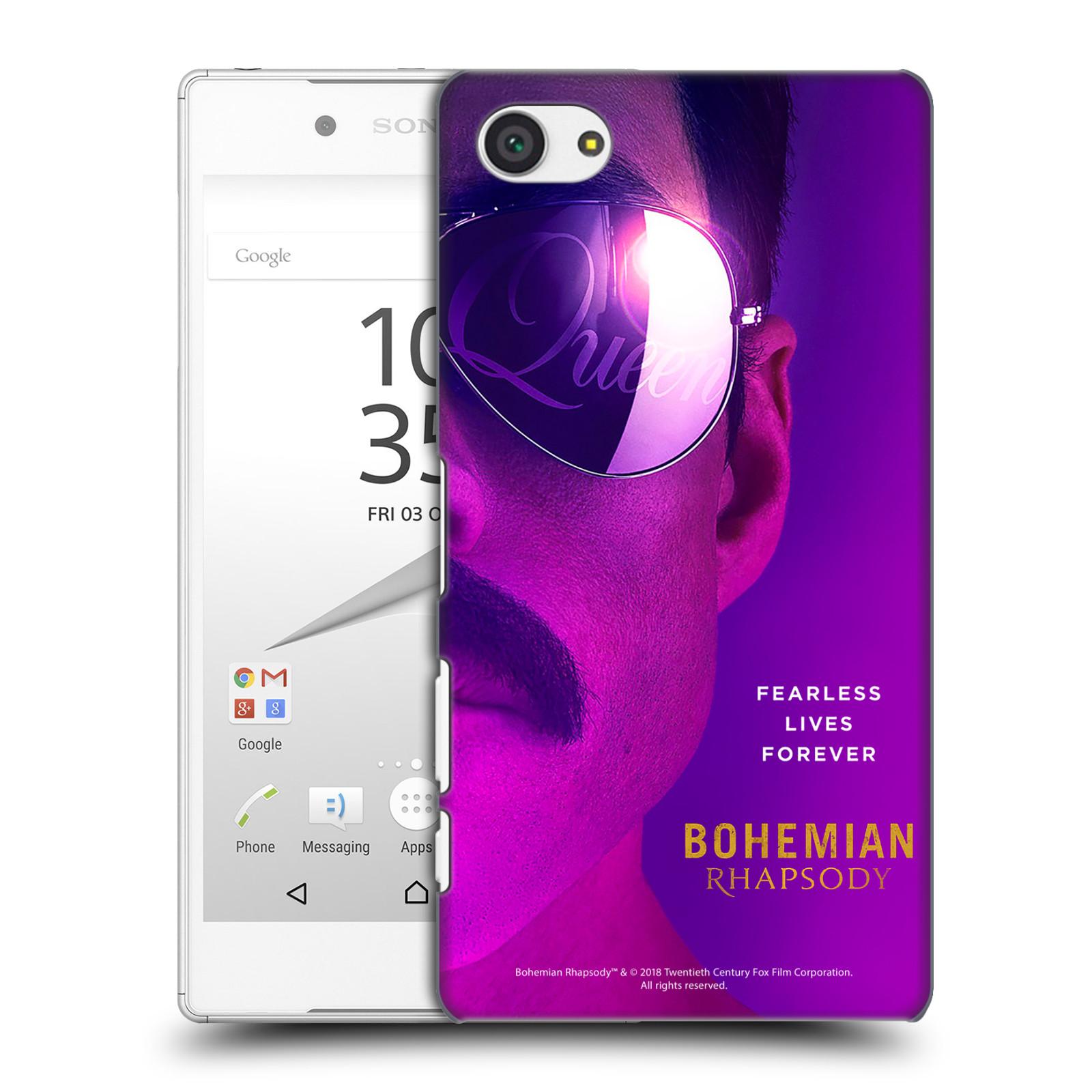Pouzdro na mobil Sony Xperia Z5 COMPACT Filmový motiv Bohemian Rhapsody Queen Tvář