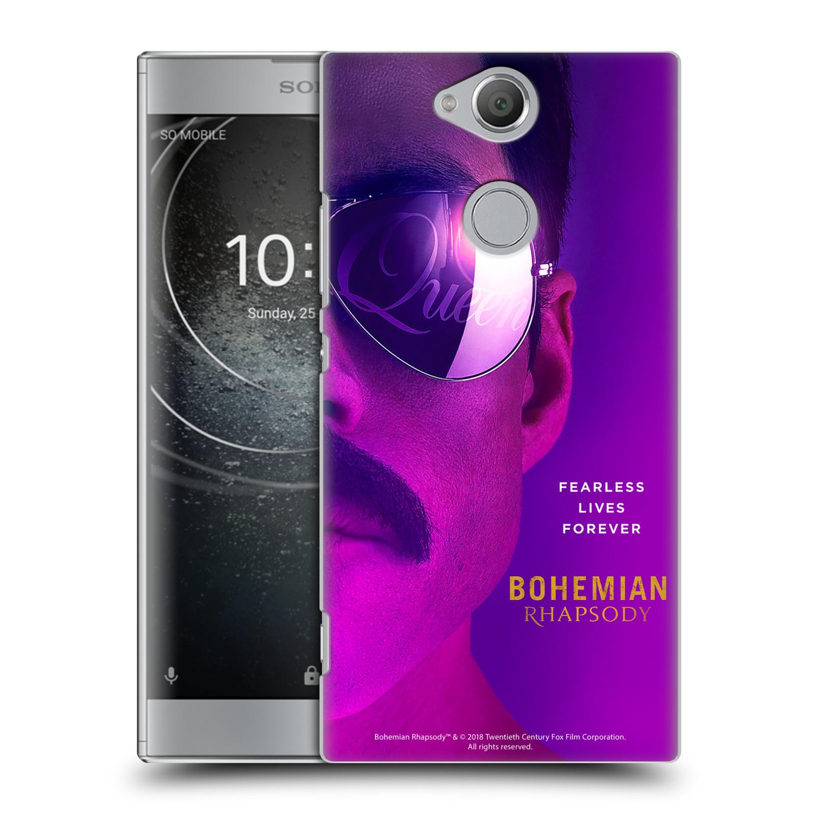 Pouzdro na mobil Sony Xperia XA2 Filmový motiv Bohemian Rhapsody Queen Tvář