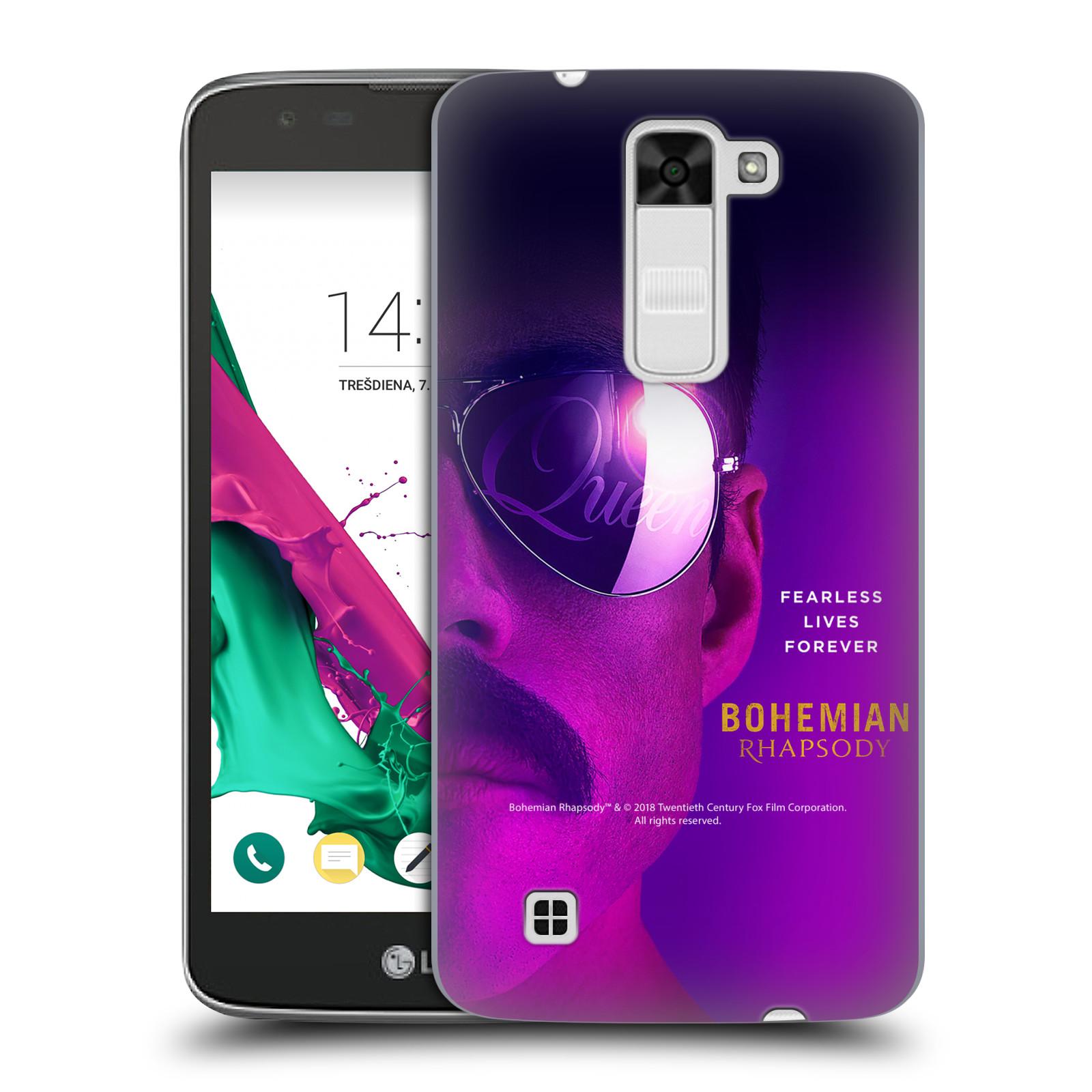 Pouzdro na mobil LG K7 Filmový motiv Bohemian Rhapsody Queen Tvář