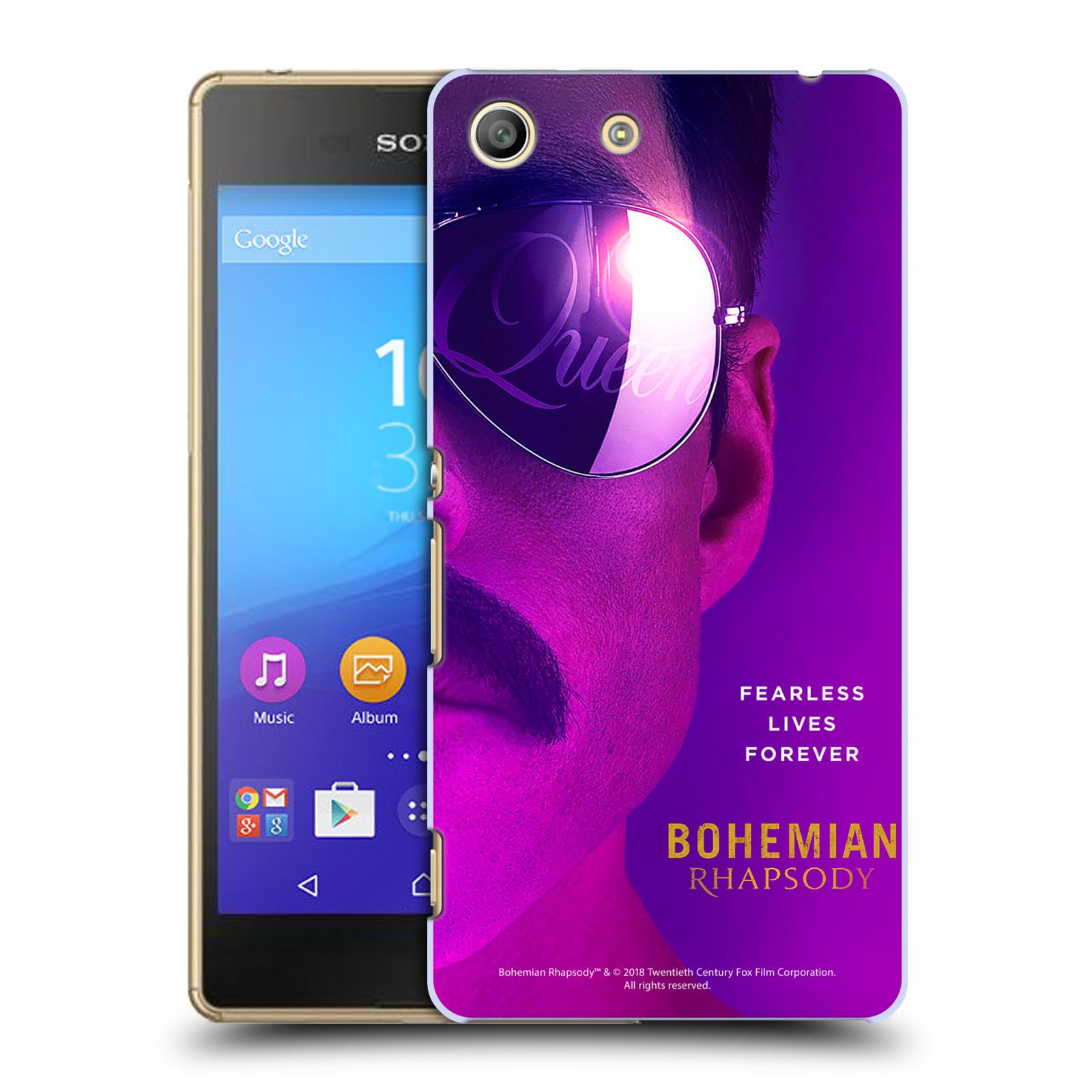 Pouzdro na mobil Sony Xperia M5 Filmový motiv Bohemian Rhapsody Queen Tvář