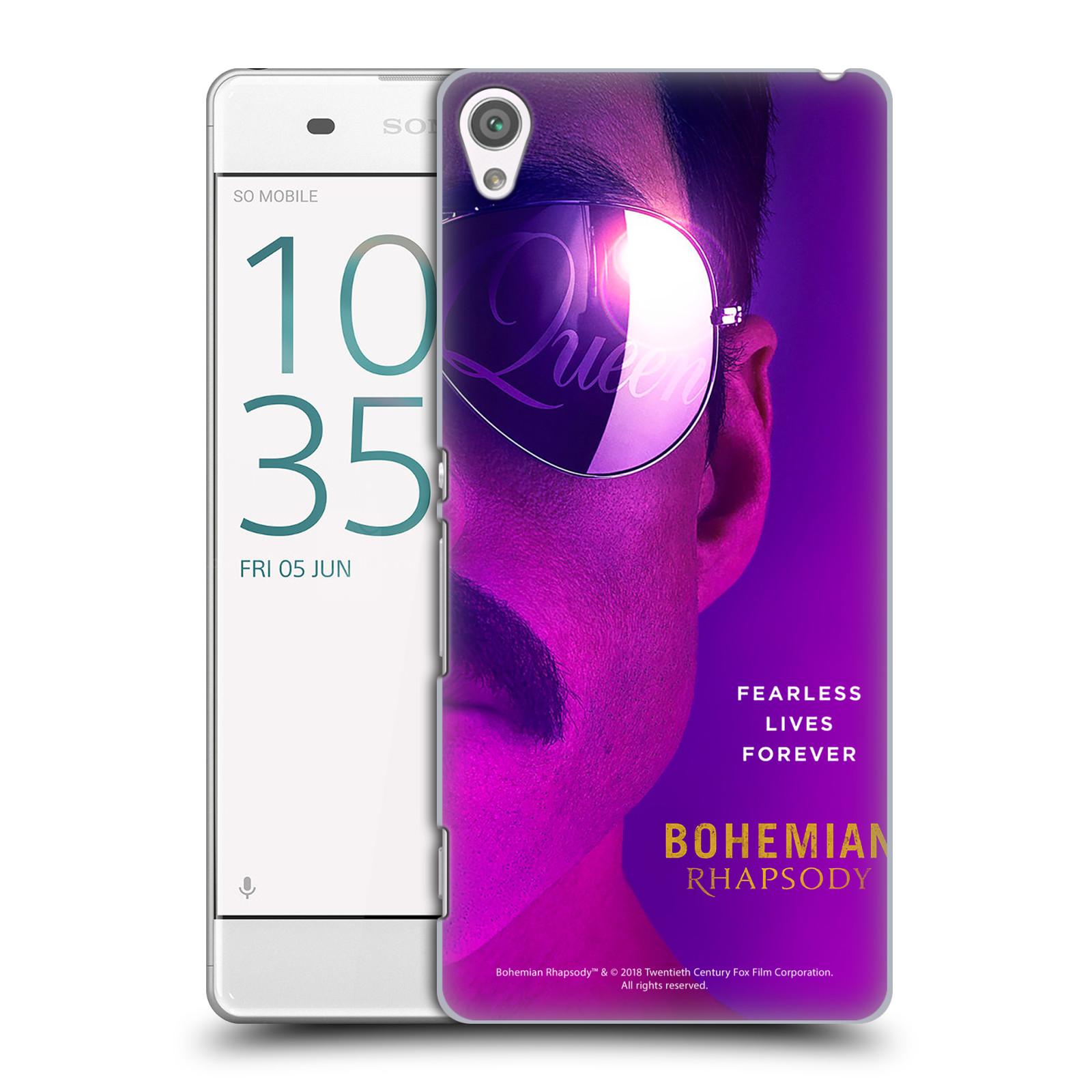 Pouzdro na mobil Sony Xperia XA Filmový motiv Bohemian Rhapsody Queen Tvář