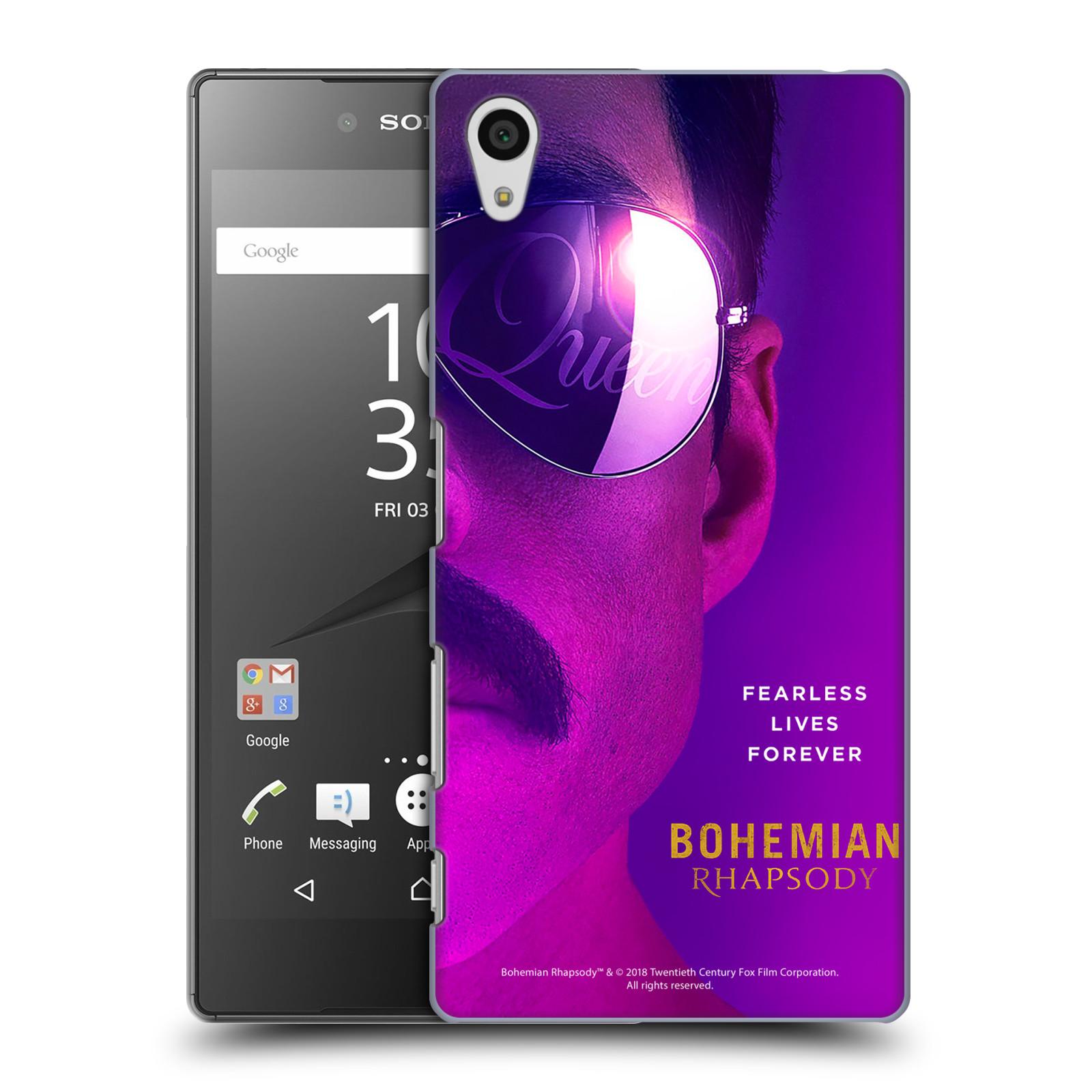 Pouzdro na mobil Sony Xperia Z5 Filmový motiv Bohemian Rhapsody Queen Tvář